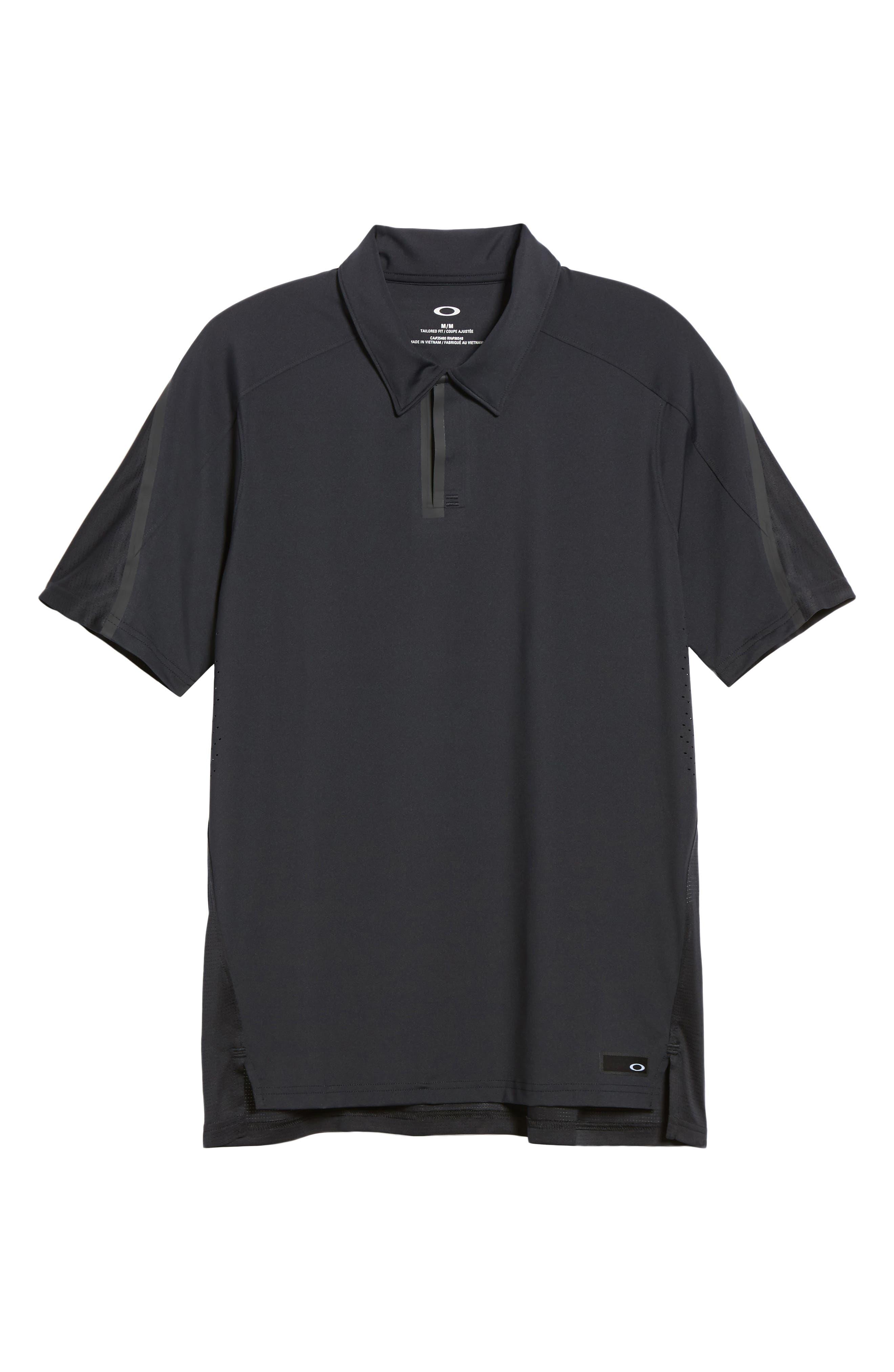 Velocity Polo Shirt,                             Alternate thumbnail 6, color,                             001