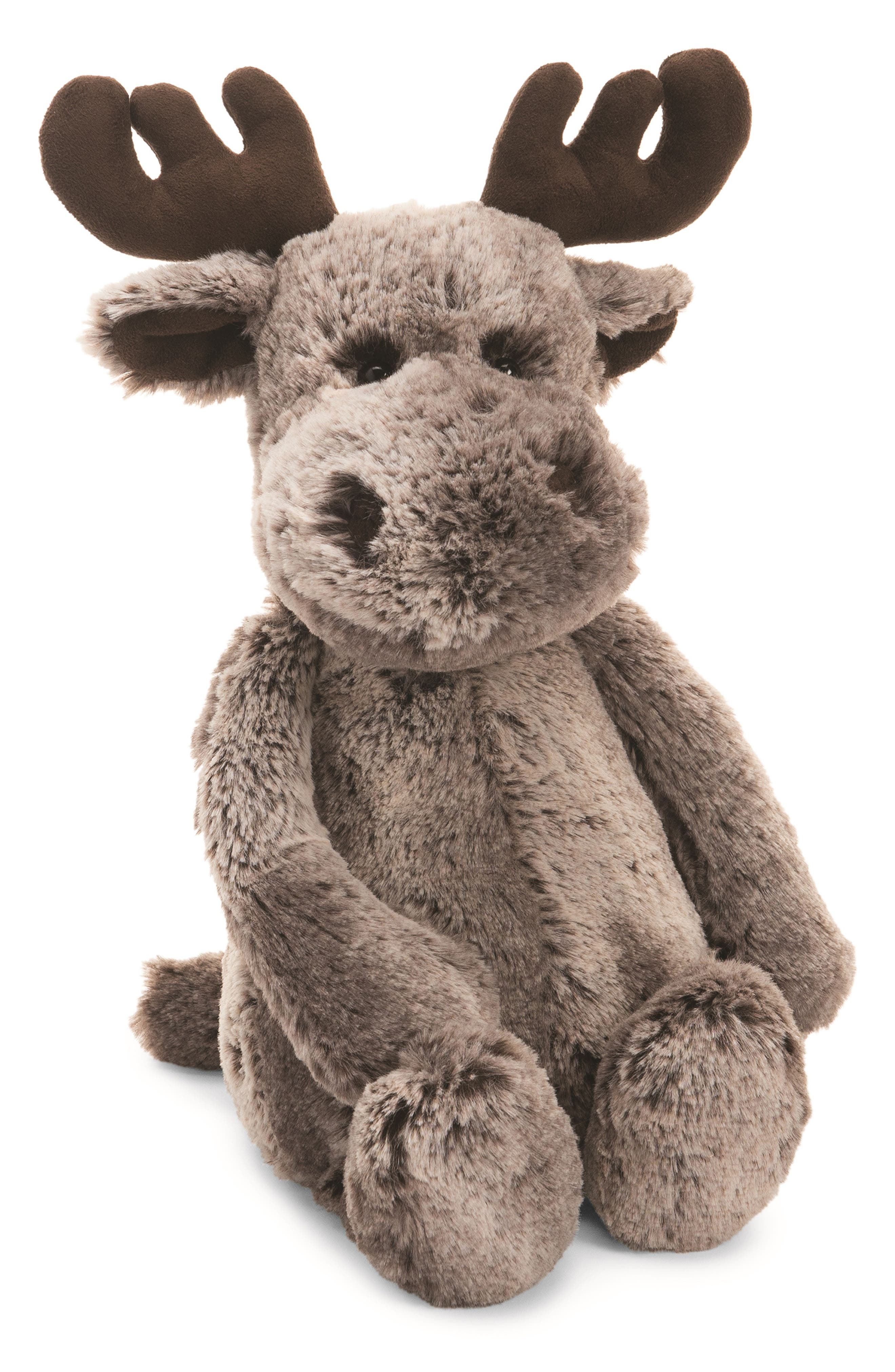 Large Marty Moose Stuffed Animal, Main, color, 200