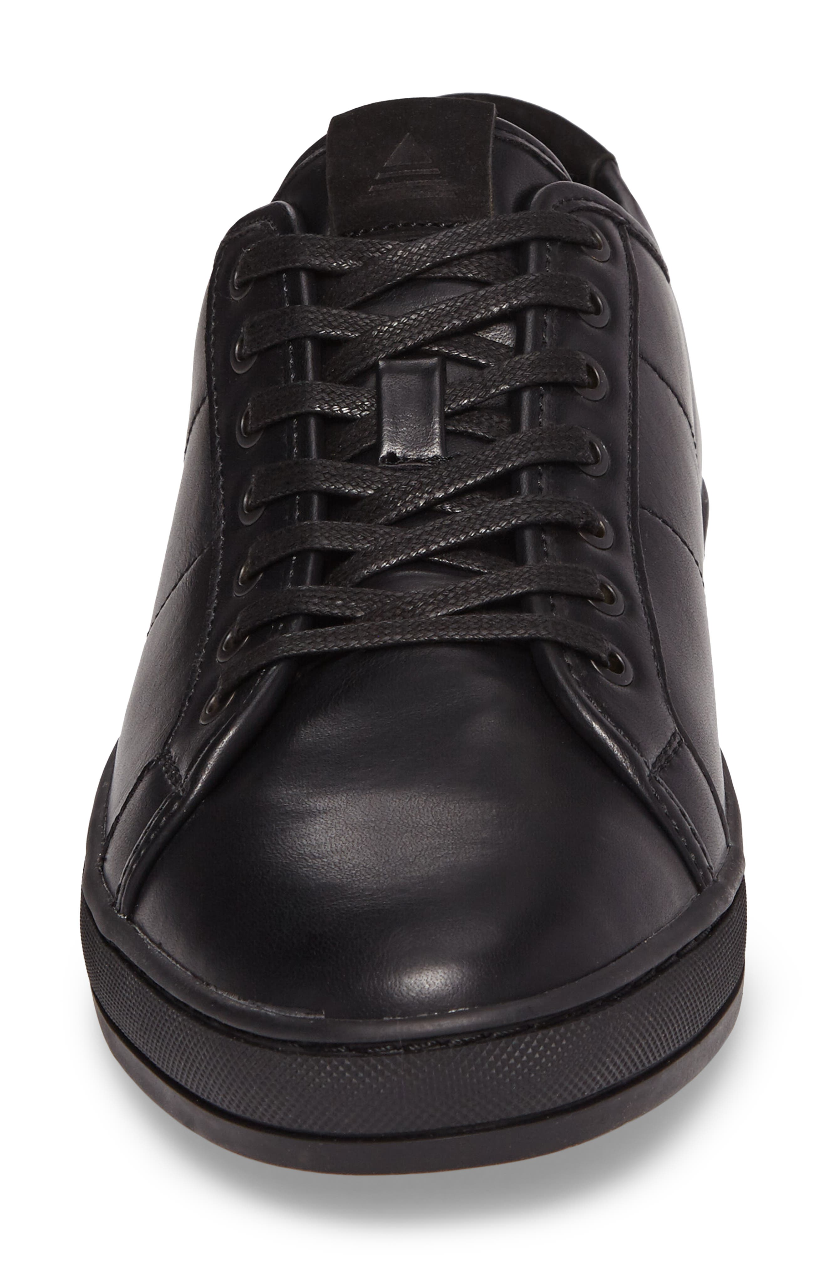 Delello Low-Top Sneaker,                             Alternate thumbnail 4, color,                             001