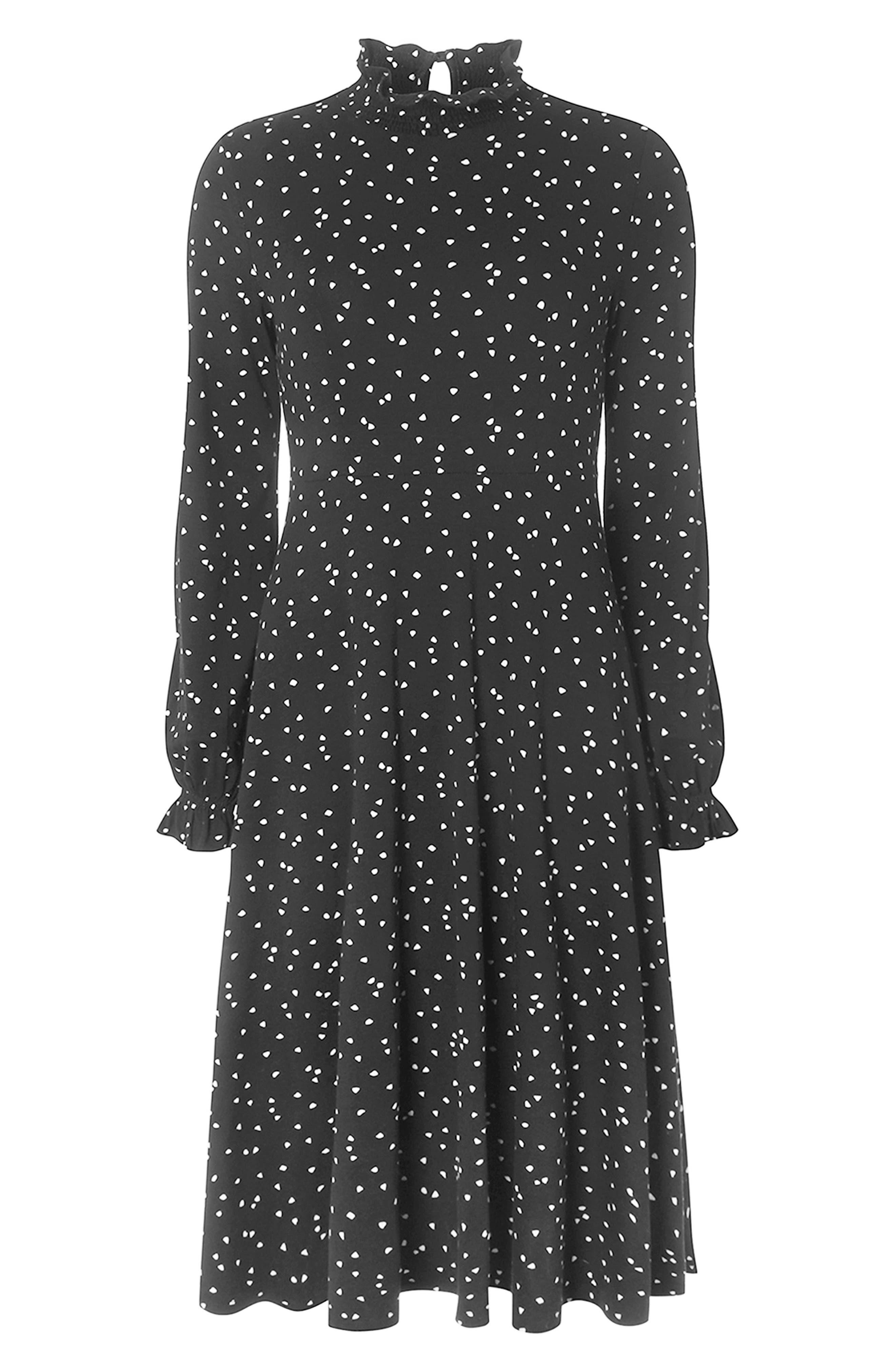 Heart Midi Dress,                             Alternate thumbnail 4, color,