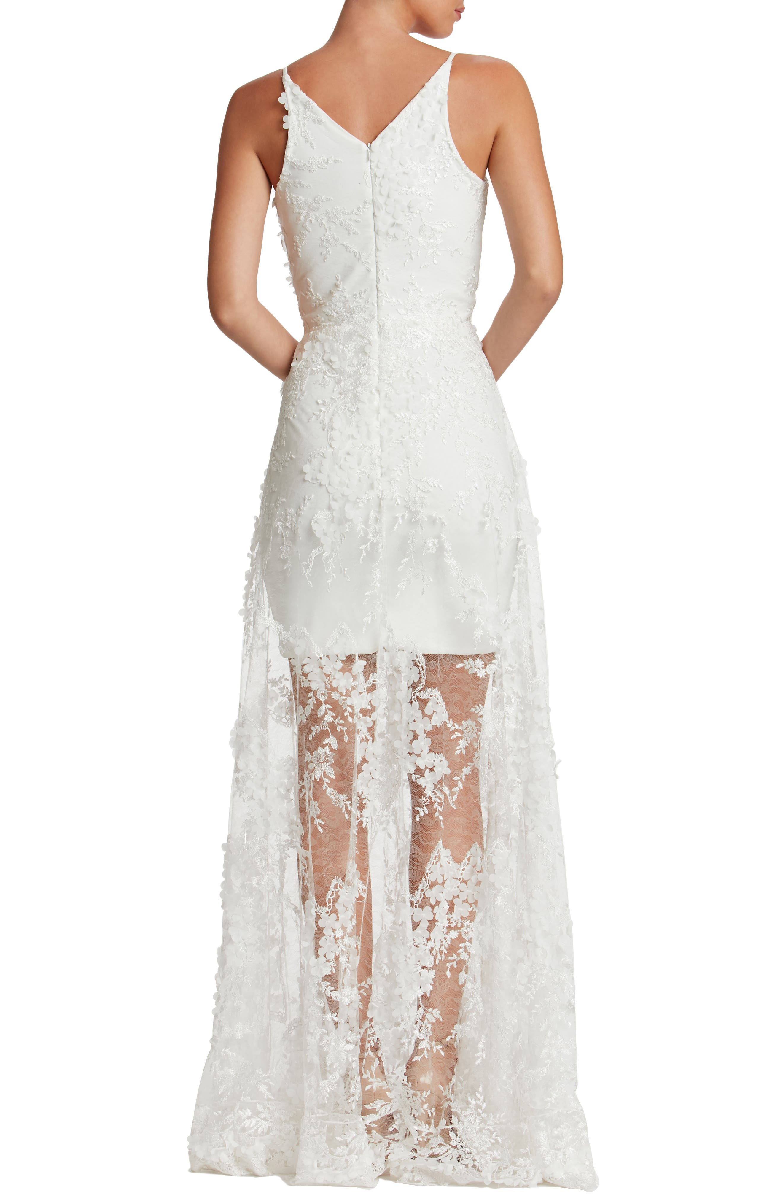 Sidney Lace Gown,                             Main thumbnail 2, color,