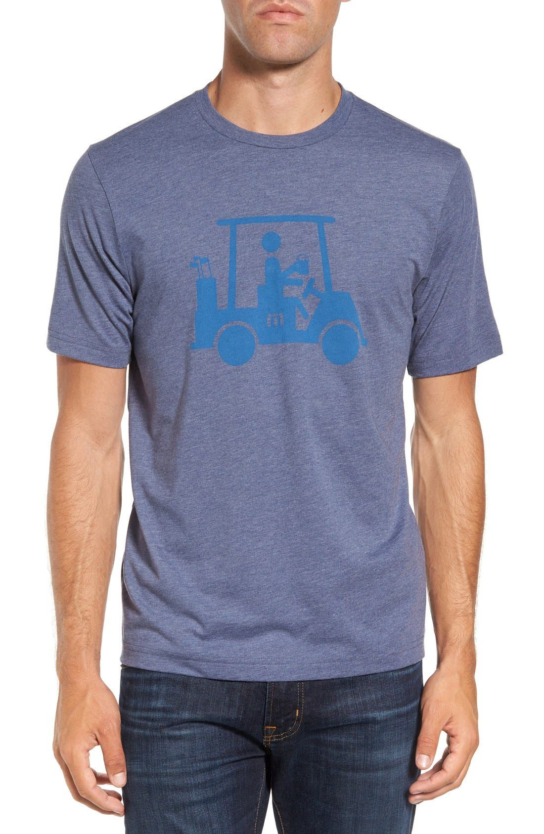 'Mapes' Graphic Pima Cotton T-Shirt,                             Main thumbnail 4, color,
