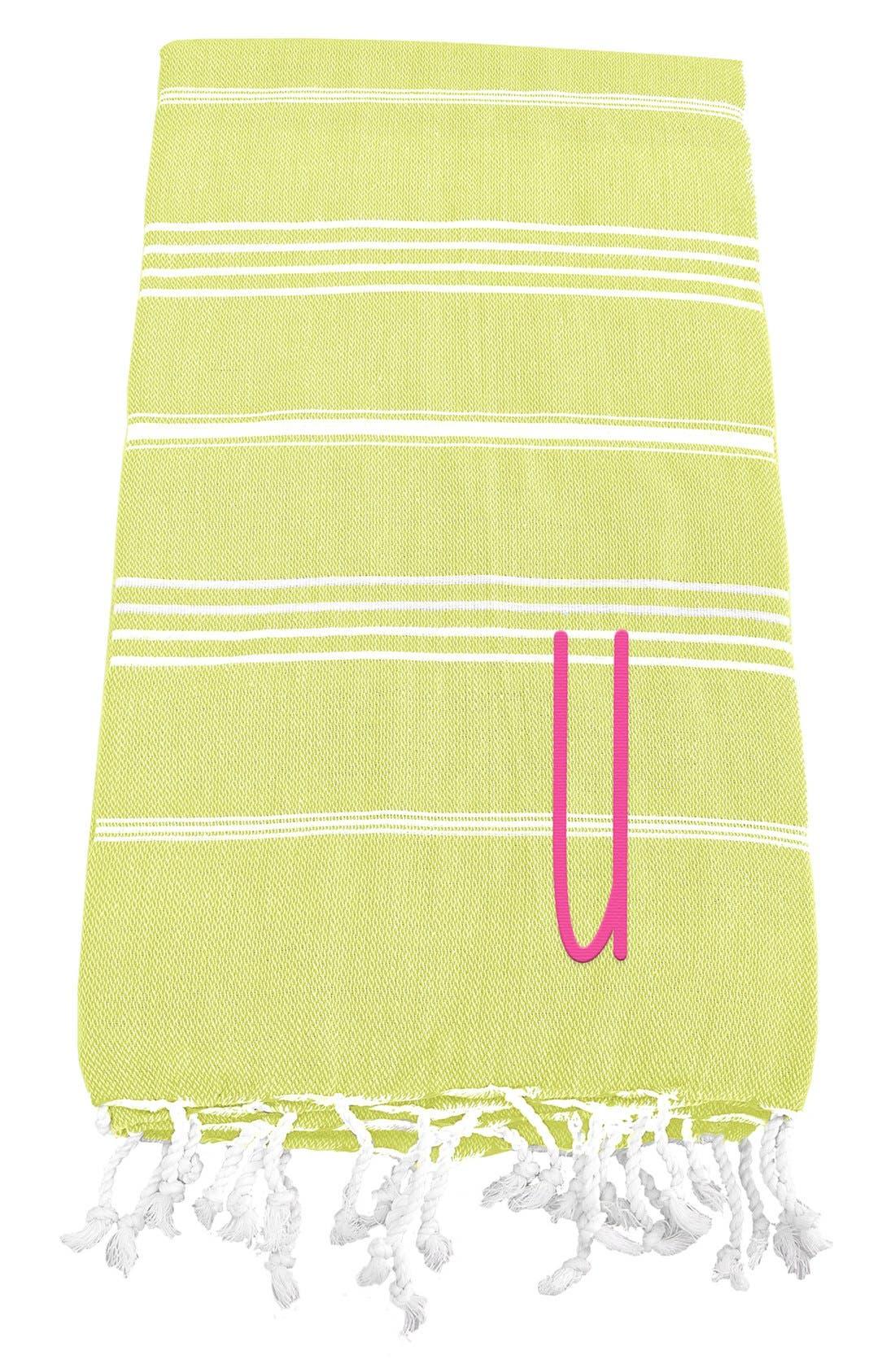 Monogram Turkish Cotton Towel,                             Main thumbnail 50, color,