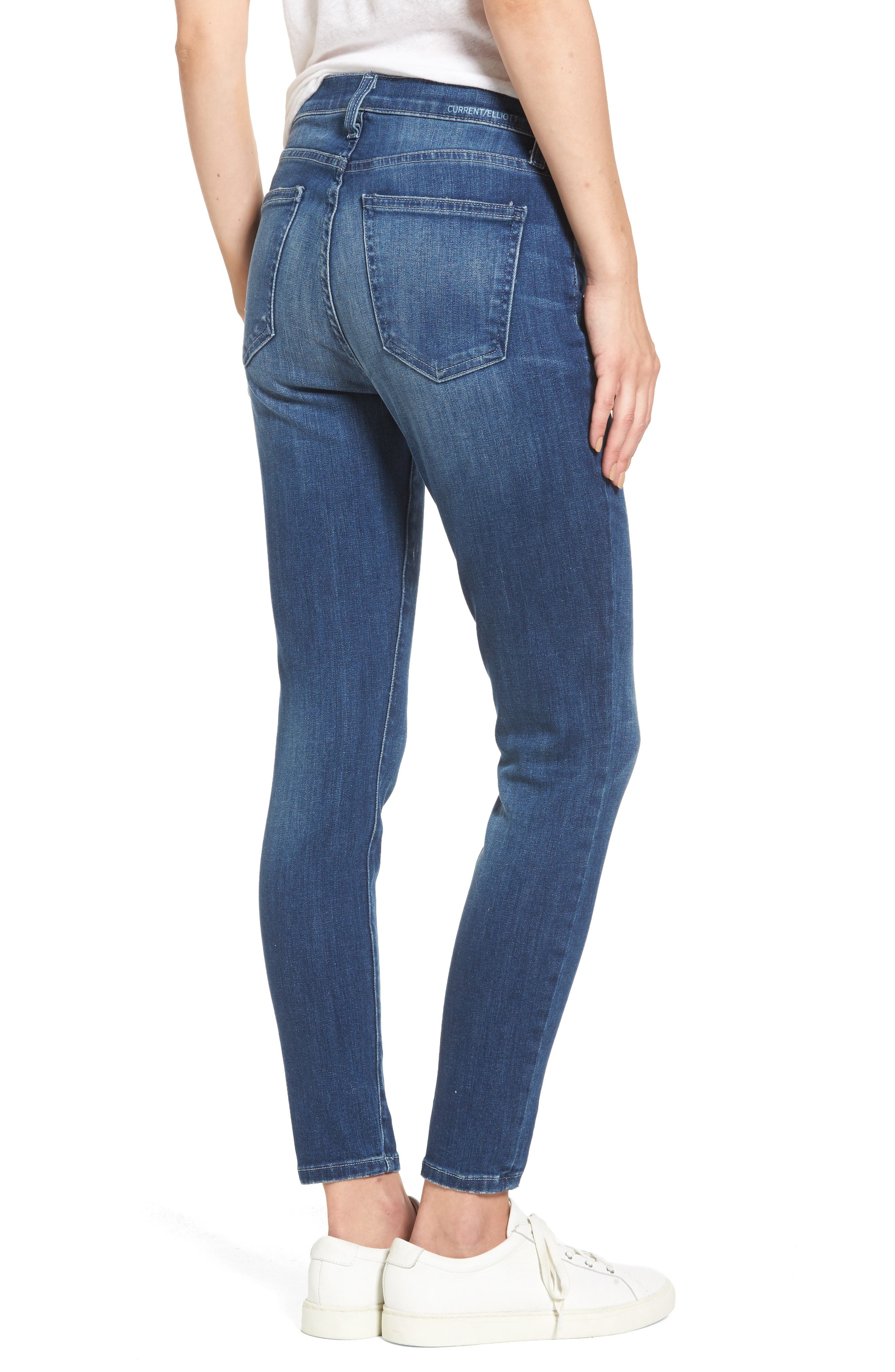 The Stiletto High Waist Skinny Jeans,                             Alternate thumbnail 2, color,                             463