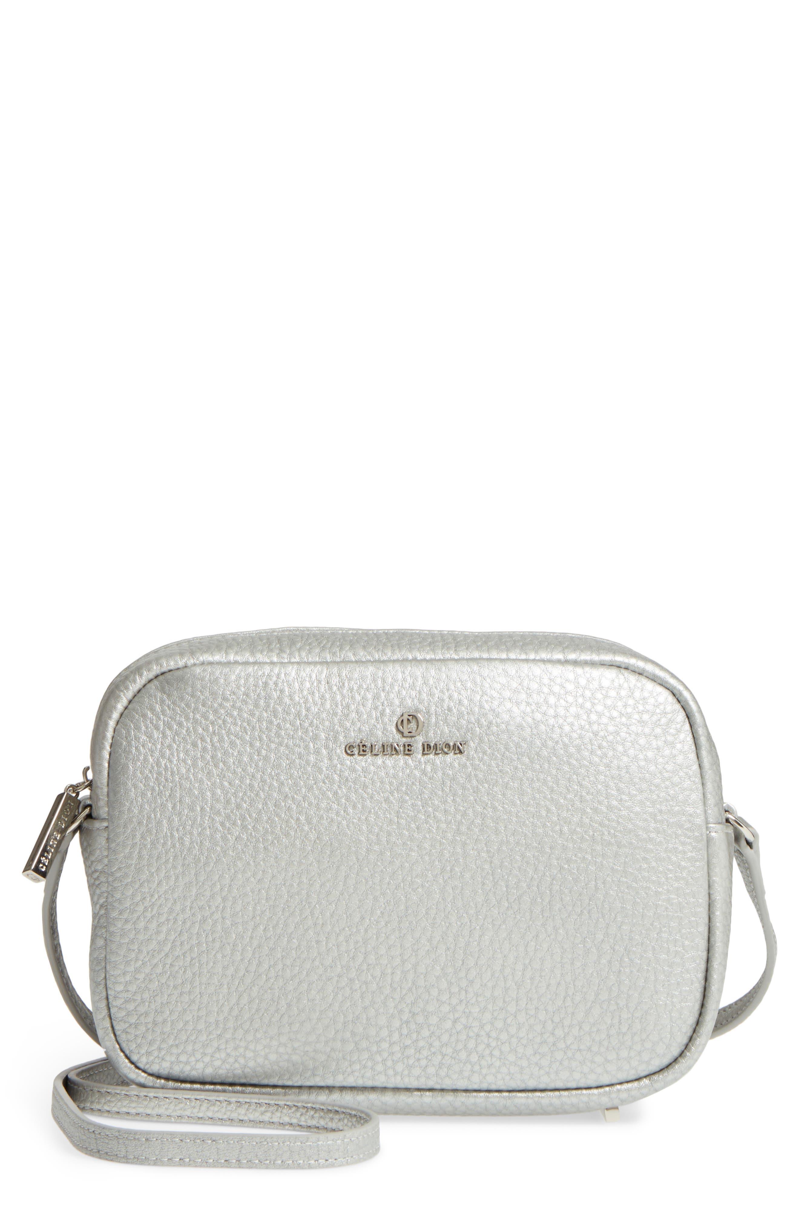 Céline Dion Adagio Leather Camera Crossbody Bag,                             Main thumbnail 2, color,