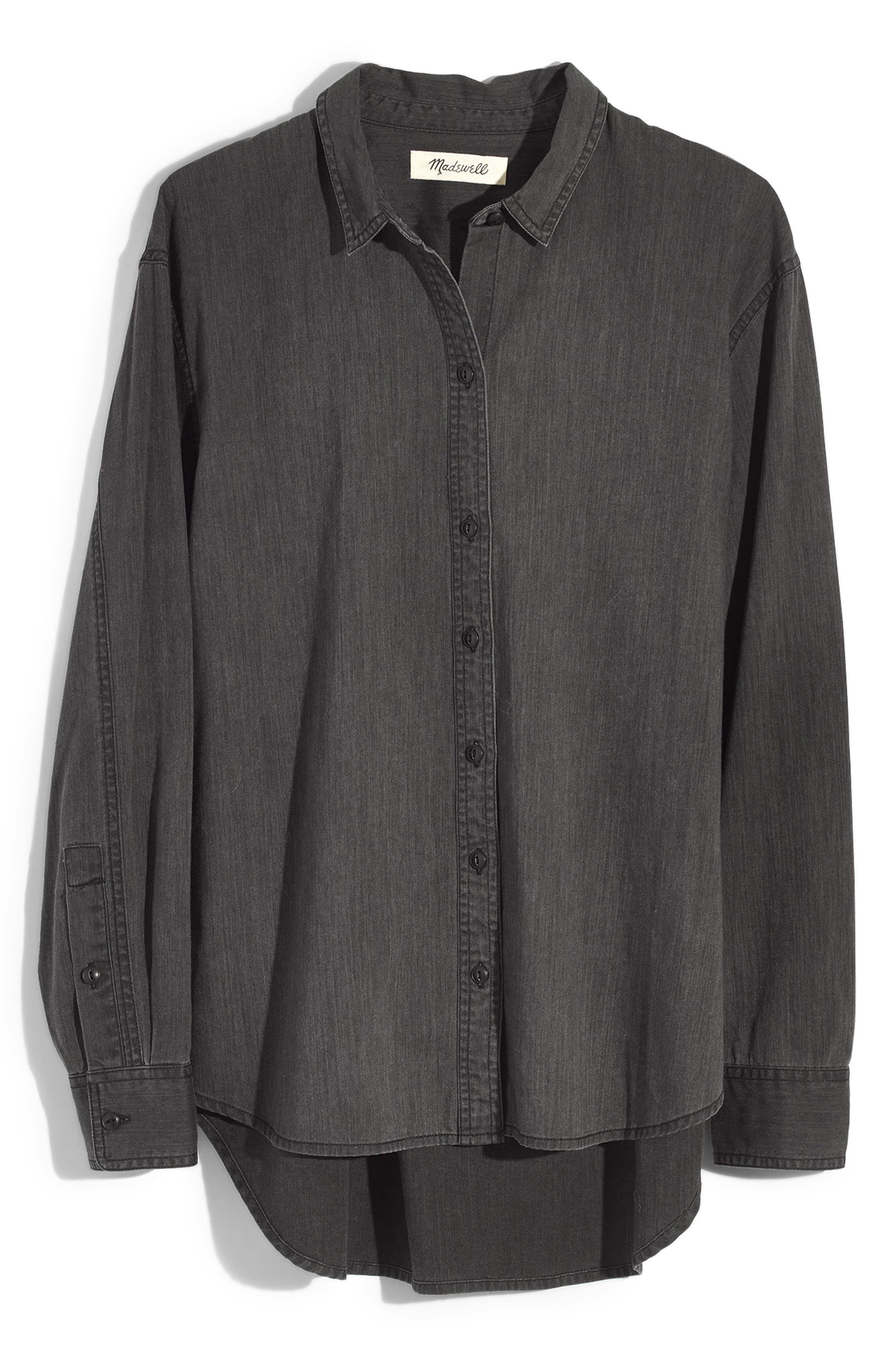 Oversized Ex-Boyfriend Shirt,                             Alternate thumbnail 4, color,                             400