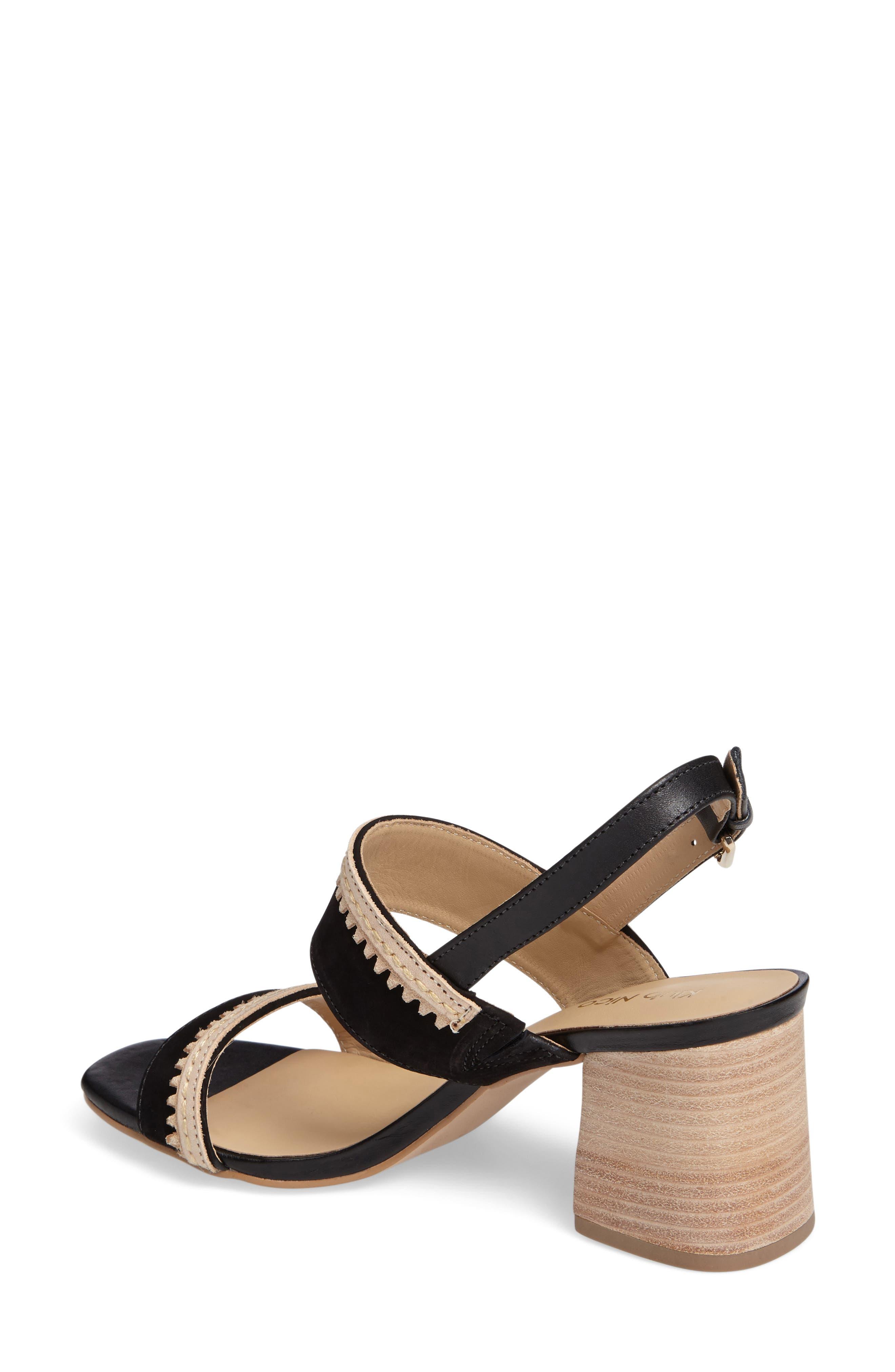 Rycca Block Heel Sandal,                             Alternate thumbnail 4, color,
