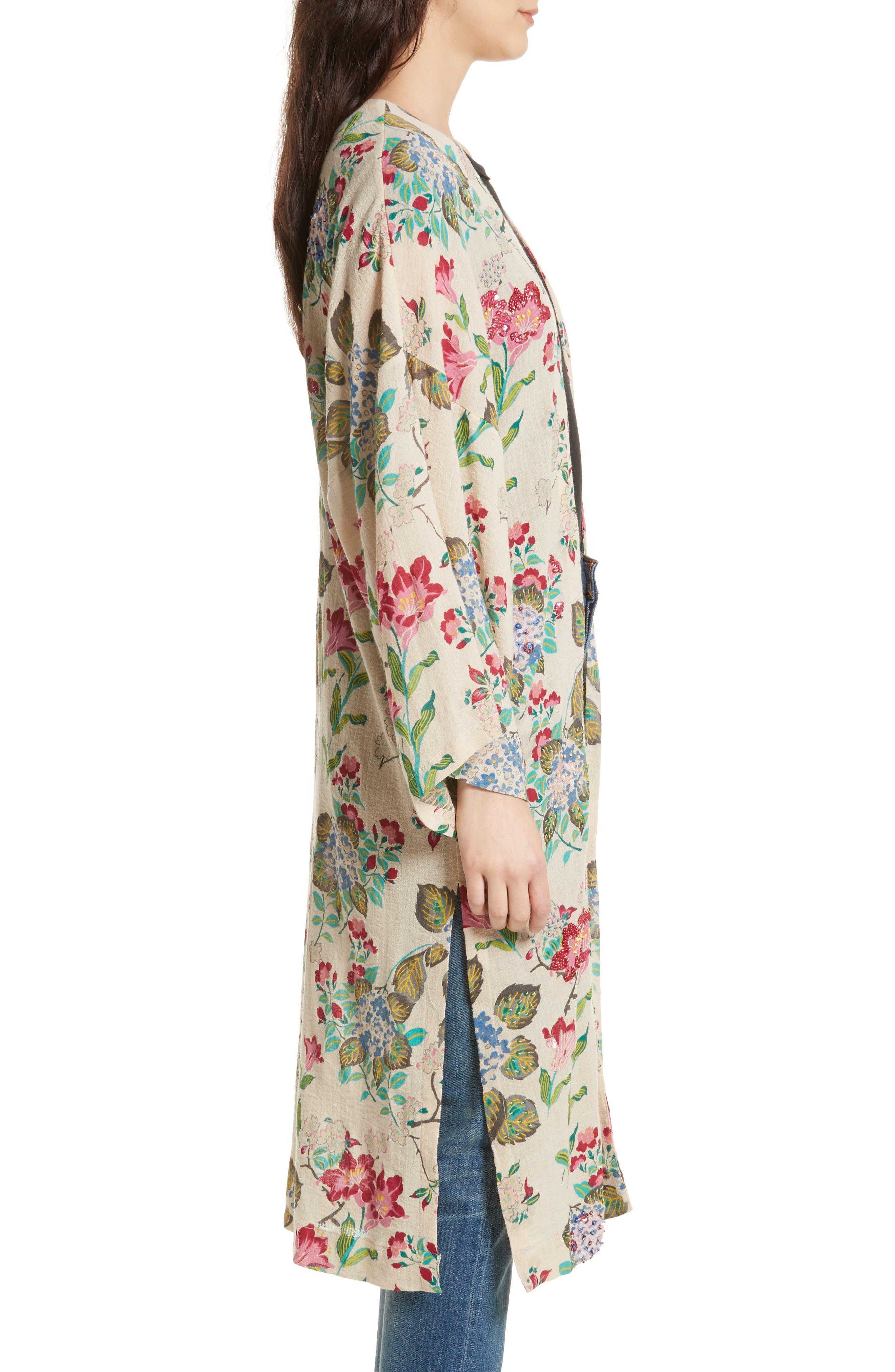 Latimer Kimono,                             Alternate thumbnail 3, color,