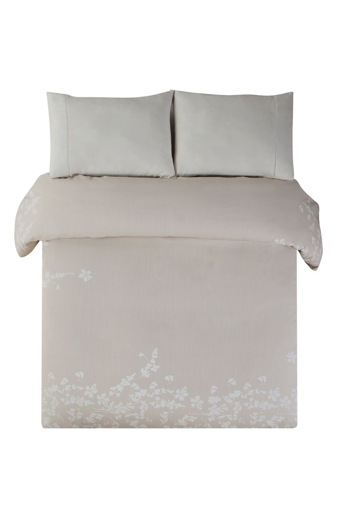 Laramie Duvet Cover & Sham Set,                             Alternate thumbnail 2, color,                             BEIGE