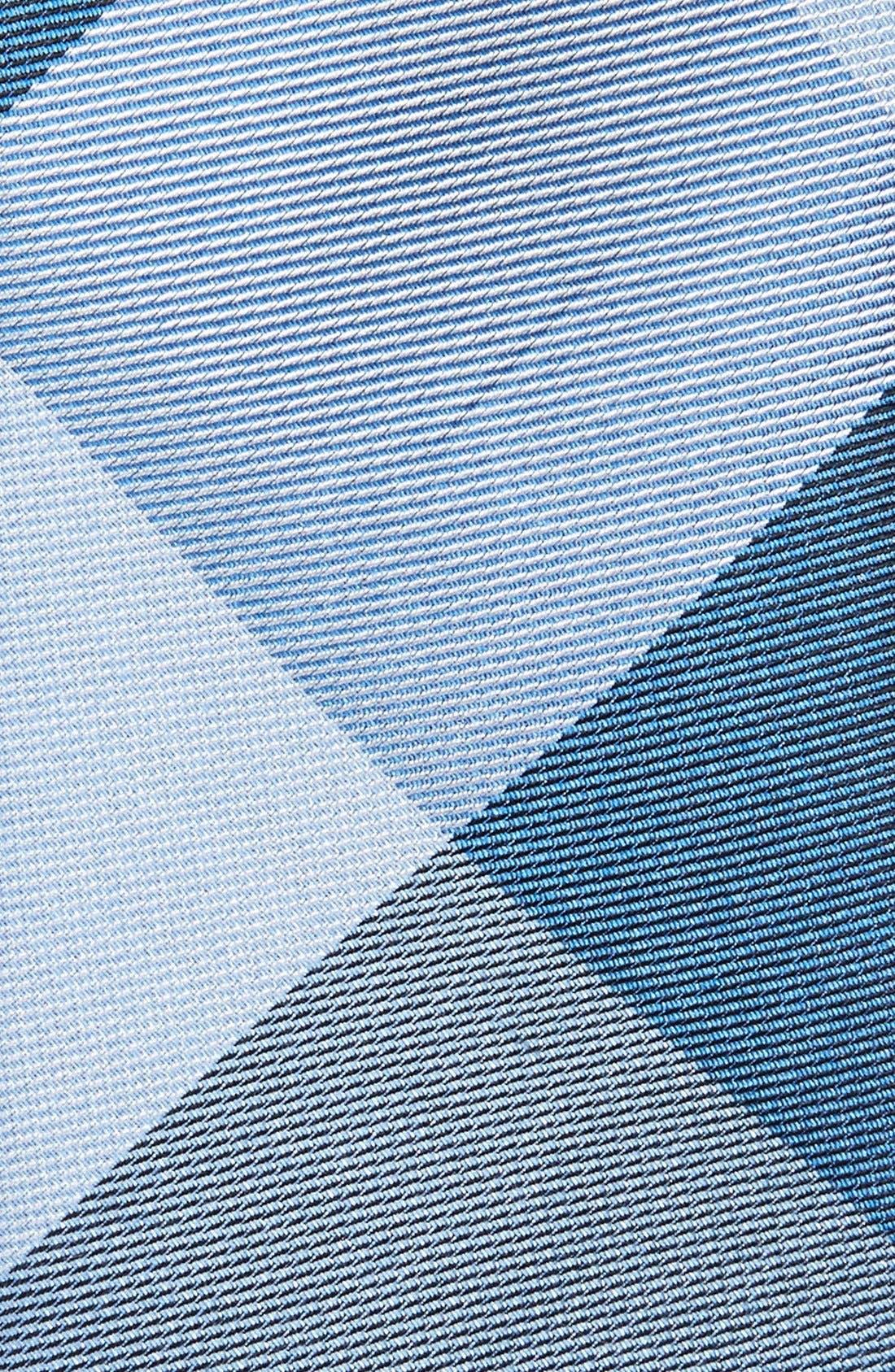 'Bison' Silk Plaid Tie,                             Alternate thumbnail 2, color,                             BLUES