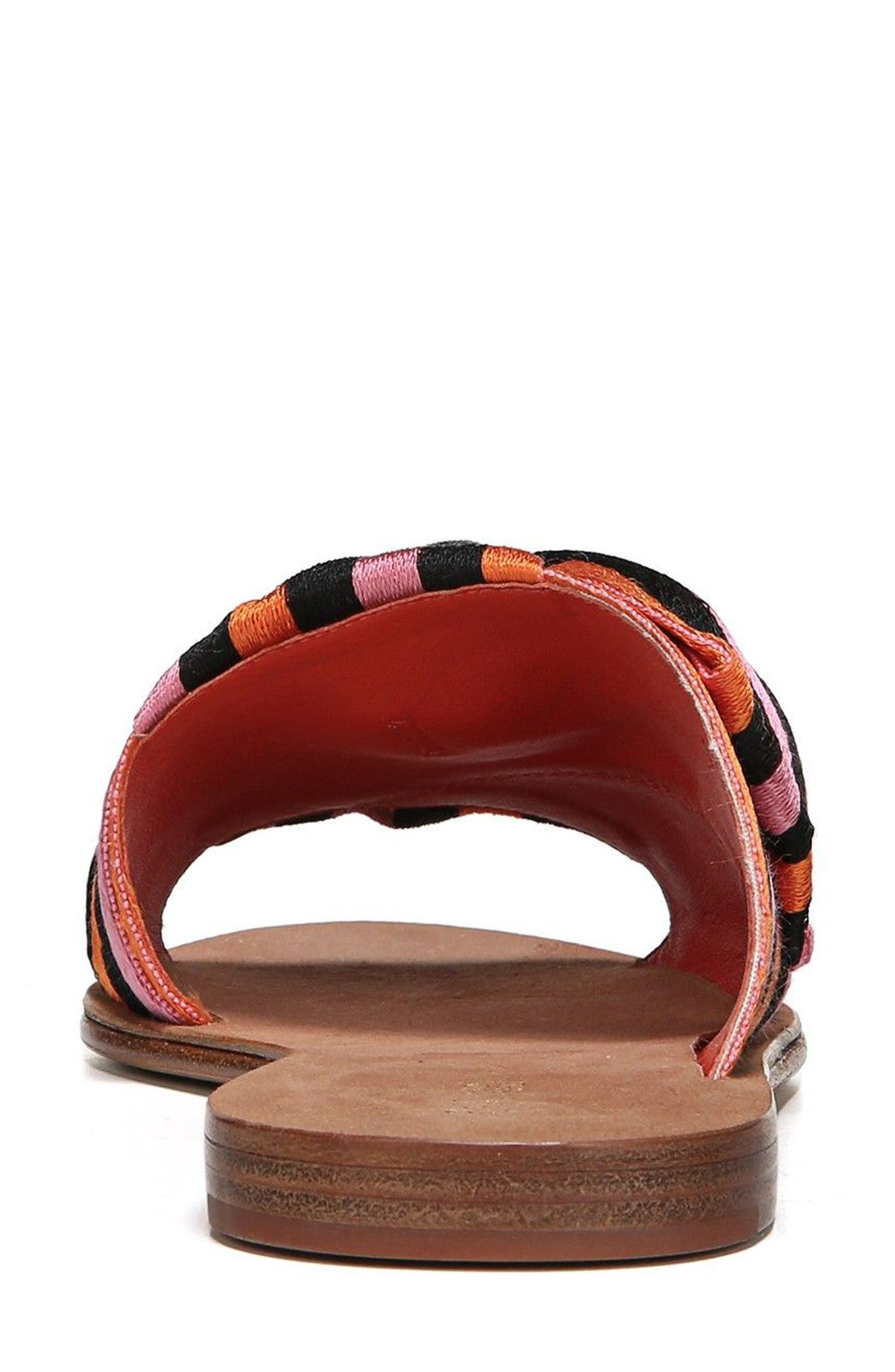 Bella Asymmetrical Slide Sandal,                             Alternate thumbnail 14, color,
