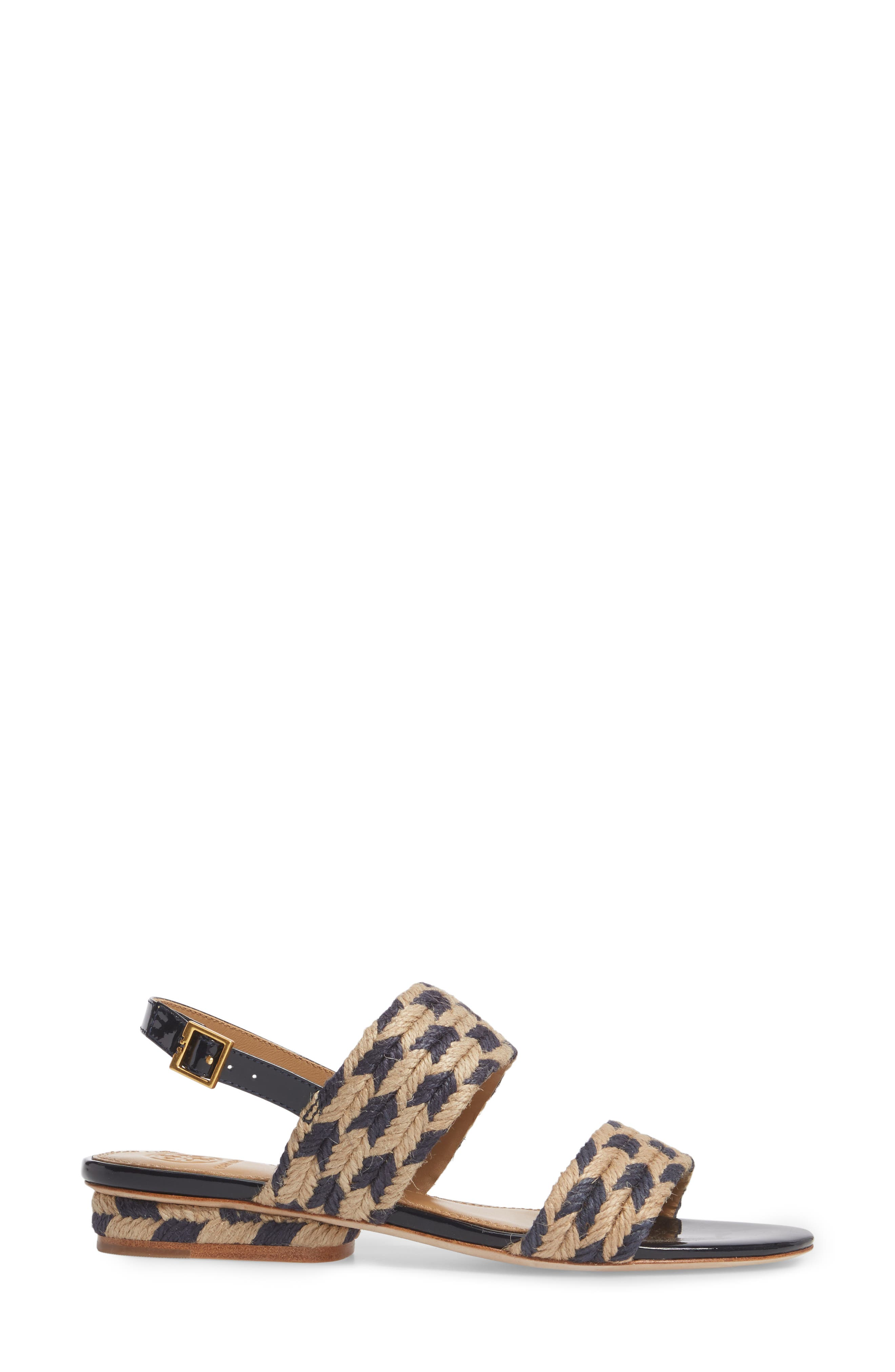 Lola Slingback Sandal,                             Alternate thumbnail 3, color,                             400