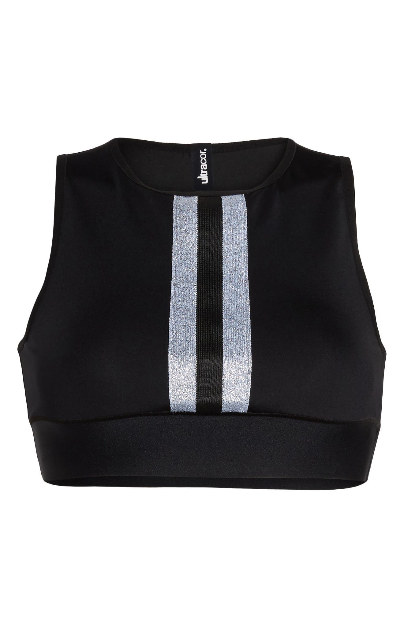 Level Matte Collegiate Crop Top,                             Alternate thumbnail 17, color,