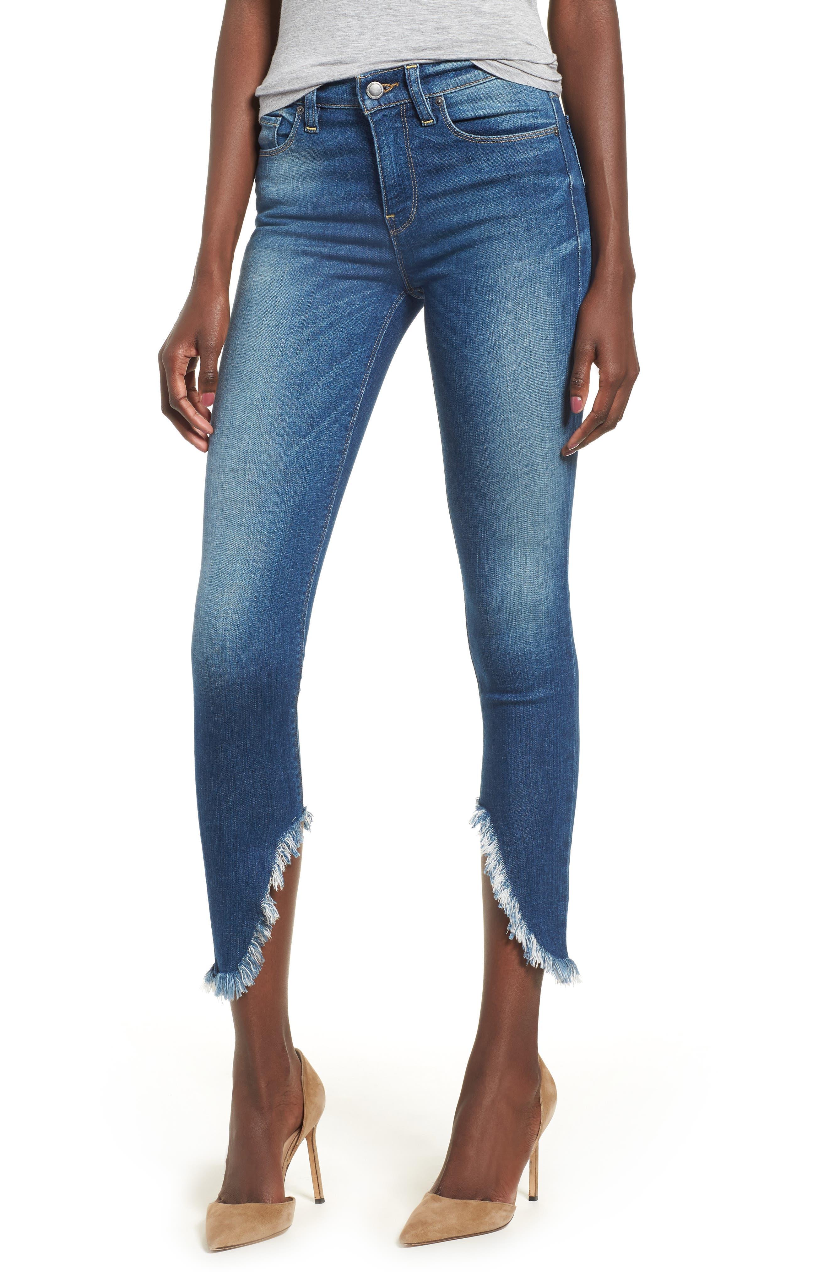 Nico Ankle Super Skinny Jeans,                             Main thumbnail 1, color,                             BLUE MONDAY