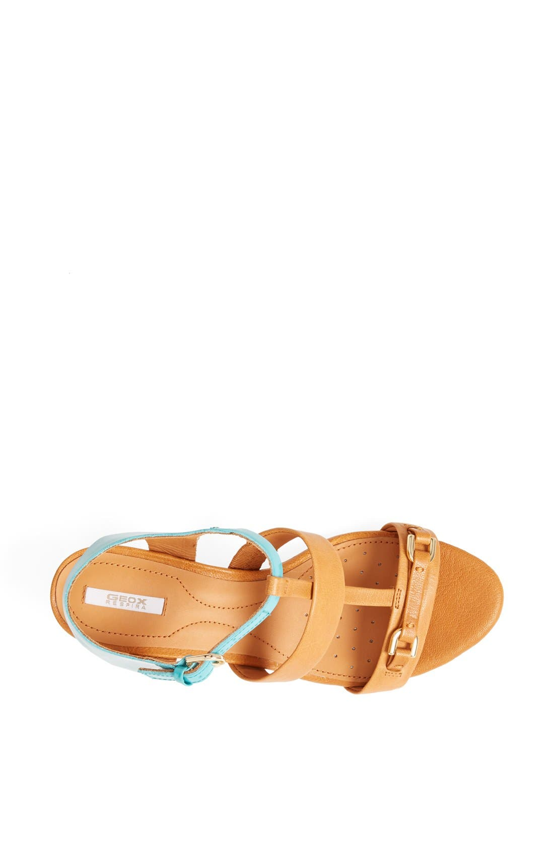 GEOX,                             'Lupe' Leather Sandal,                             Alternate thumbnail 2, color,                             258