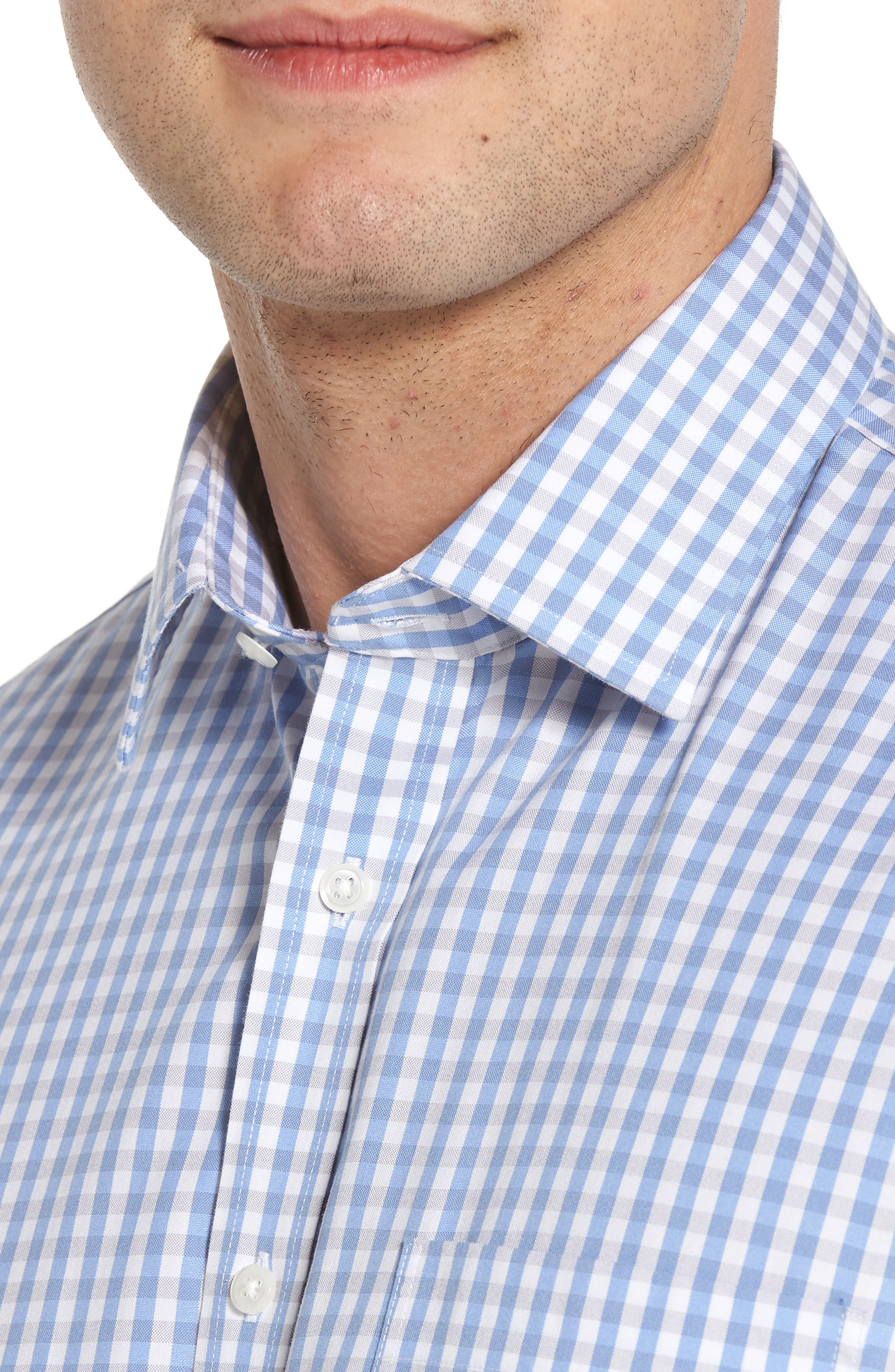 Smartcare<sup>™</sup> Traditional Fit Check Dress Shirt,                             Alternate thumbnail 2, color,                             050