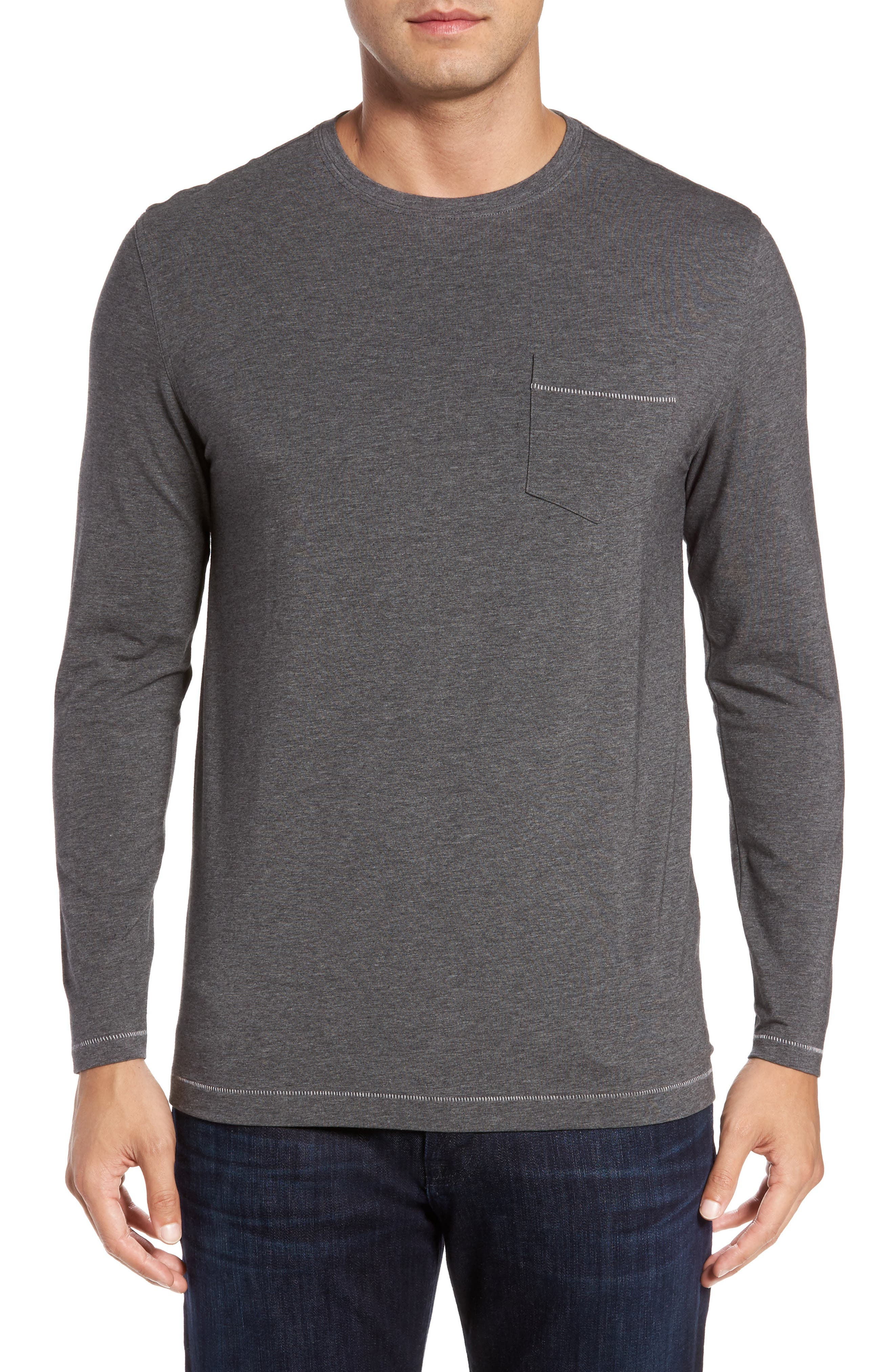 Rule 18 Essential Crewneck T-Shirt,                             Main thumbnail 1, color,                             020