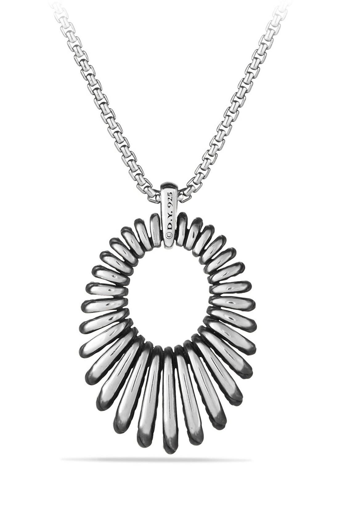 'Tempo' Necklace with Diamonds,                             Alternate thumbnail 3, color,                             DIAMOND