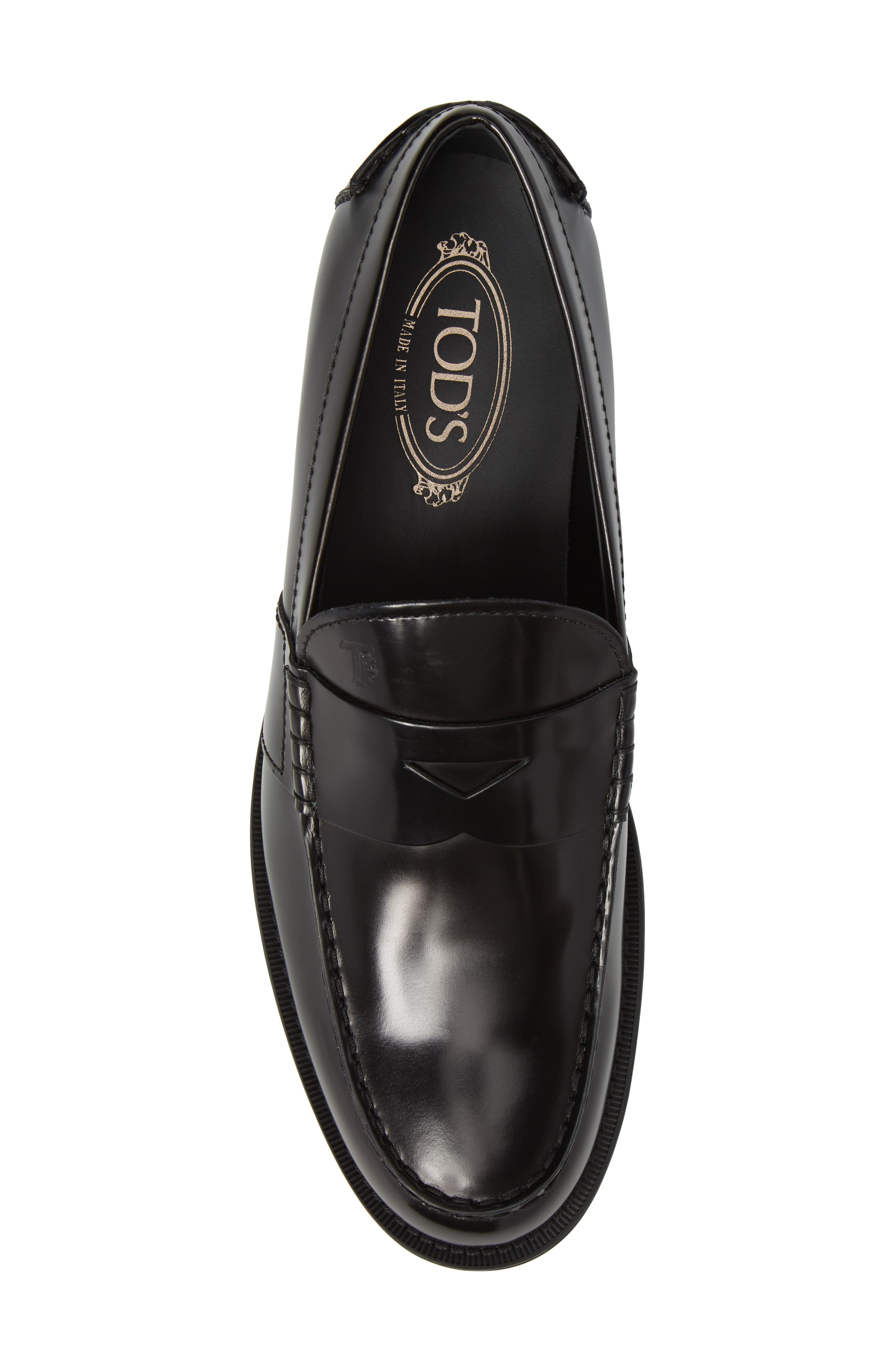 Tods Penny Loafer,                             Alternate thumbnail 5, color,                             001