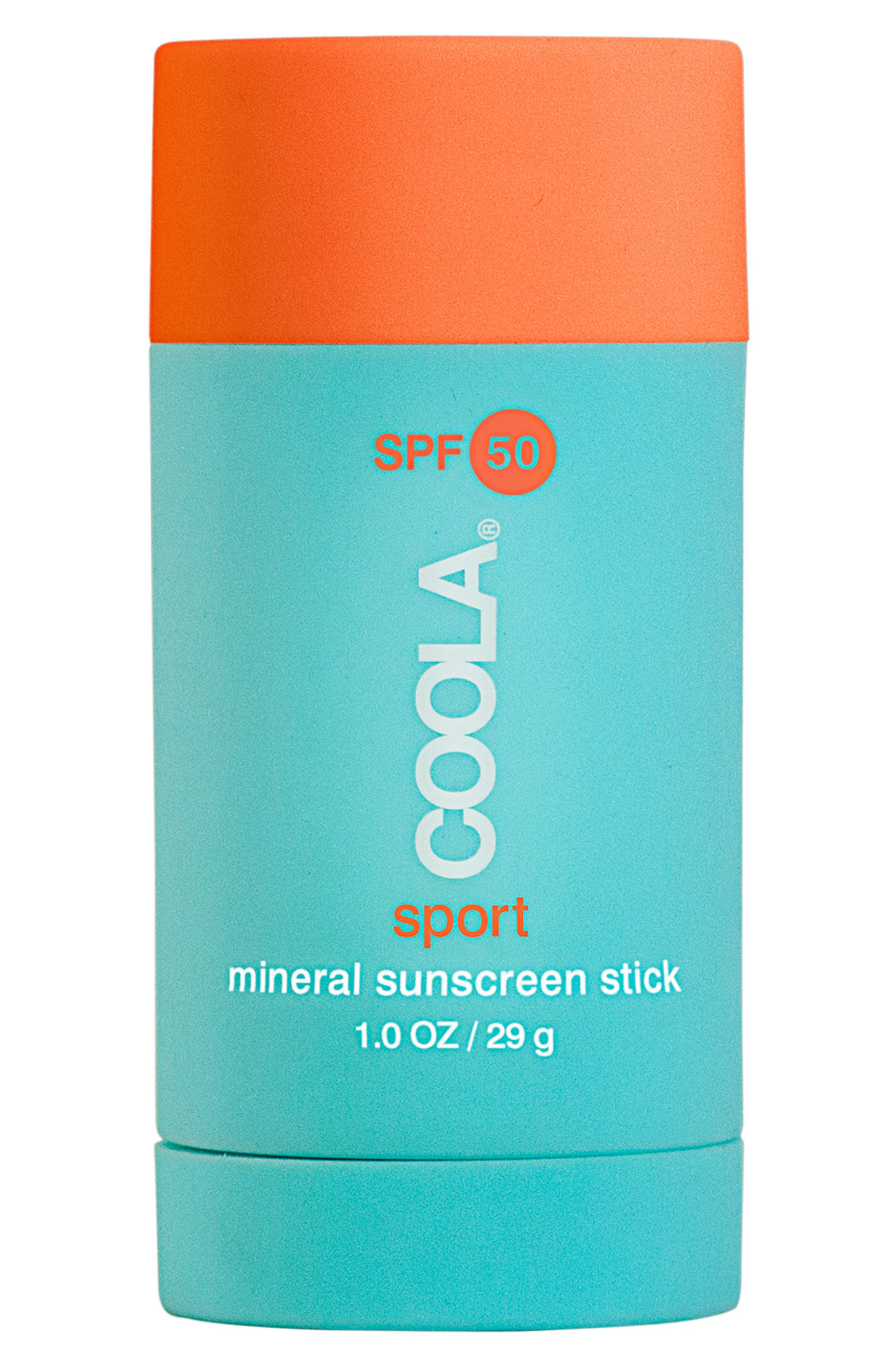 COOLA<sup>®</sup> Suncare Mineral Sport Sunscreen Stick SPF 50,                             Main thumbnail 1, color,                             CLEAR