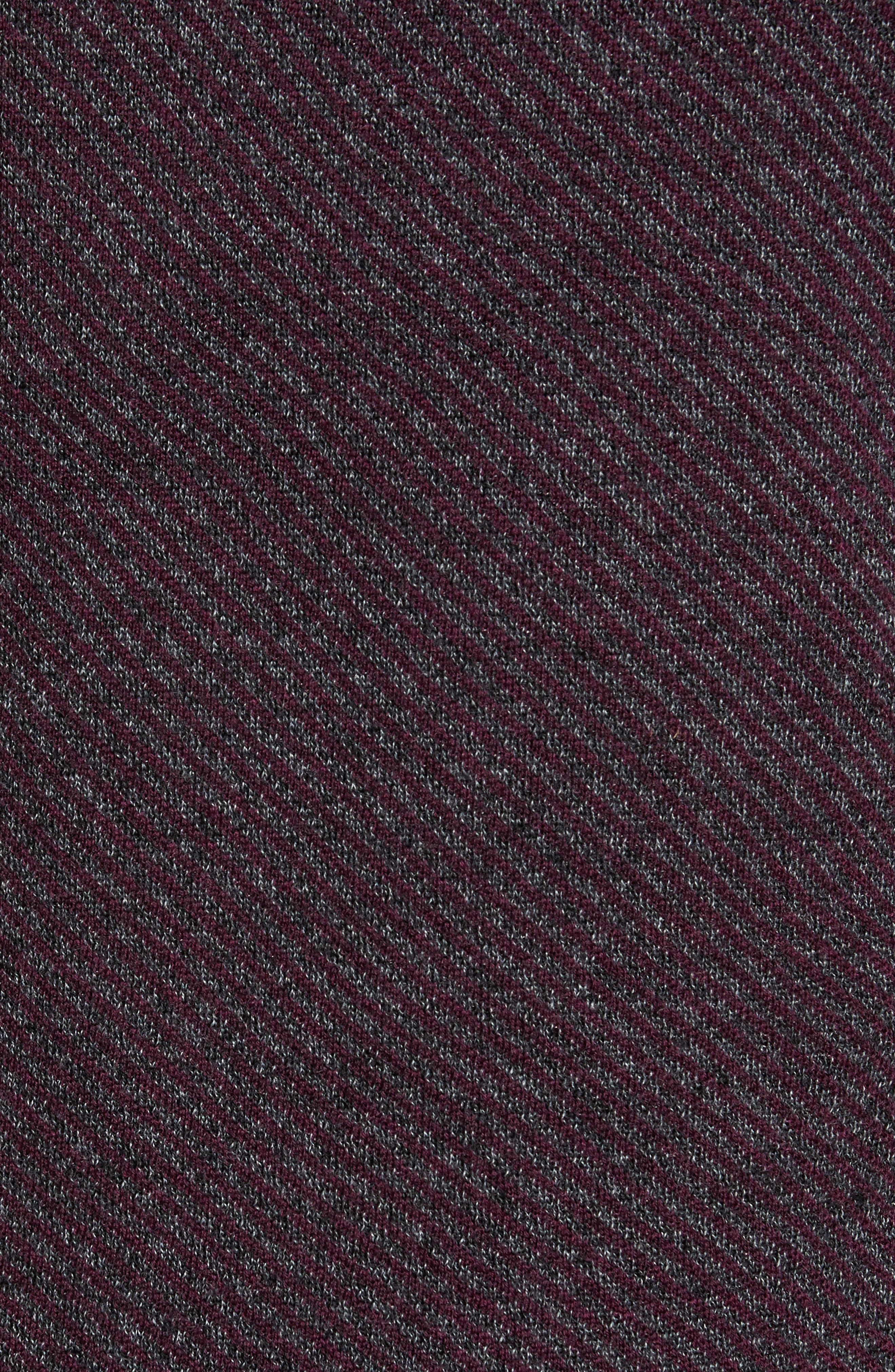 Stripe Quarter Zip Sweater,                             Alternate thumbnail 10, color,