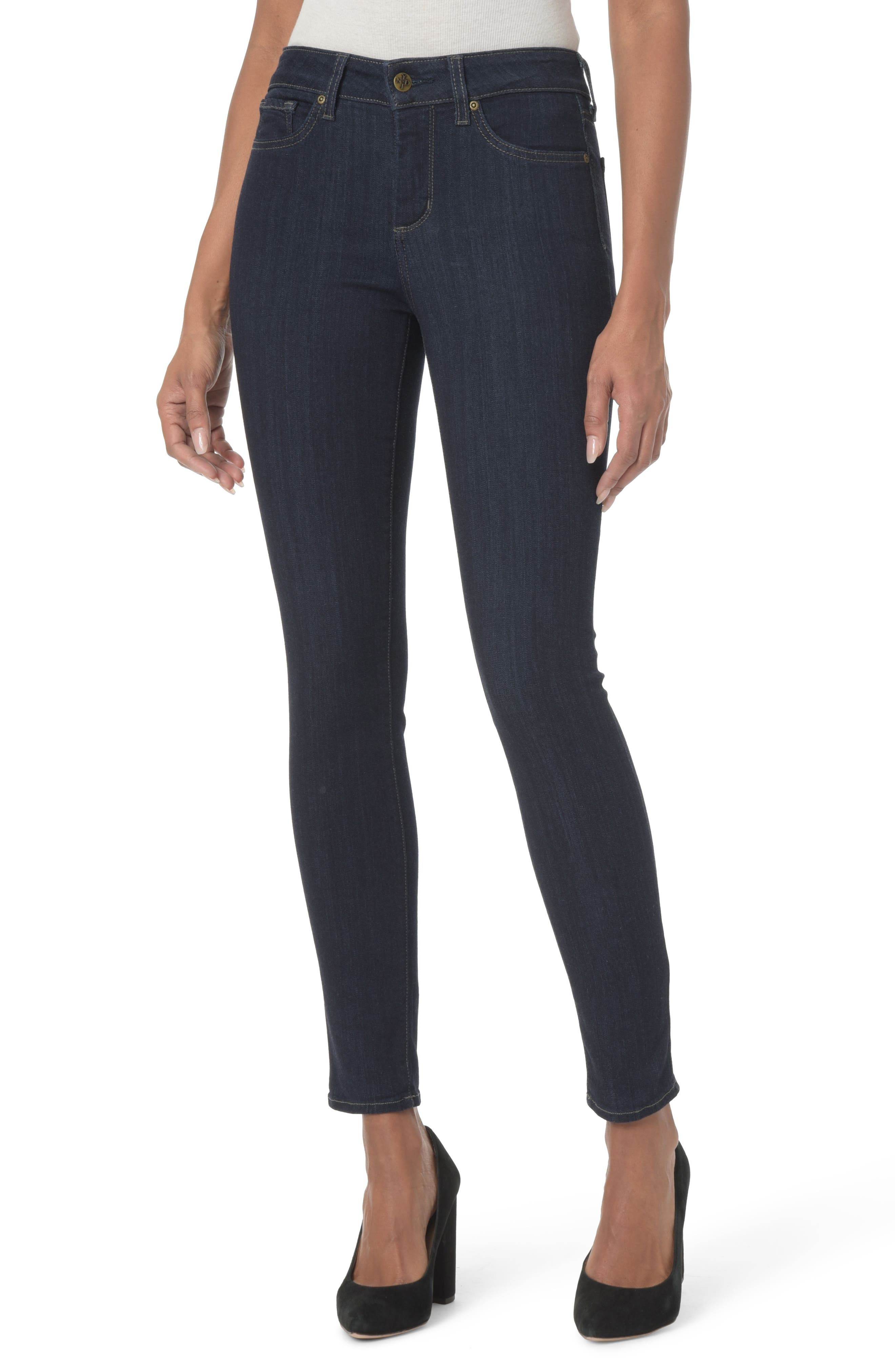 Ami Stretch Super Skinny Jeans,                             Main thumbnail 6, color,