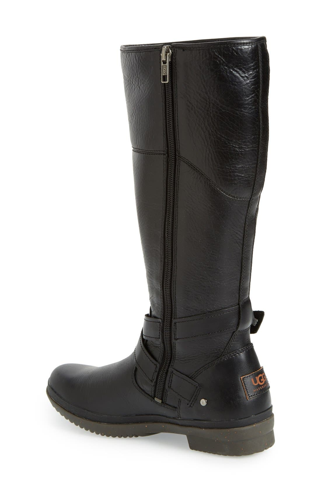 Evanna Riding Boot,                             Alternate thumbnail 2, color,                             001