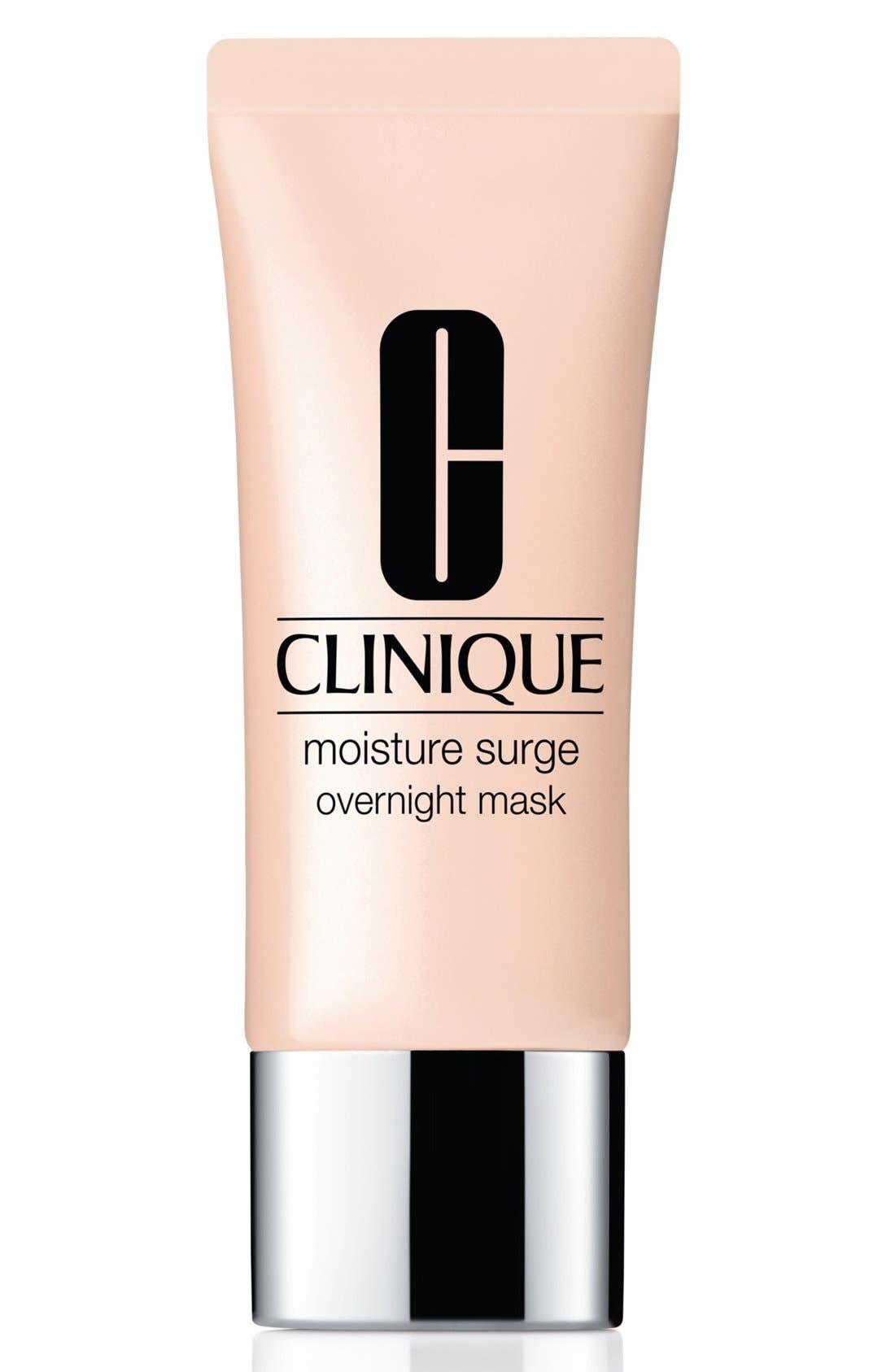 CLINIQUE,                             Moisture Surge Overnight Mask,                             Main thumbnail 1, color,                             NO COLOR