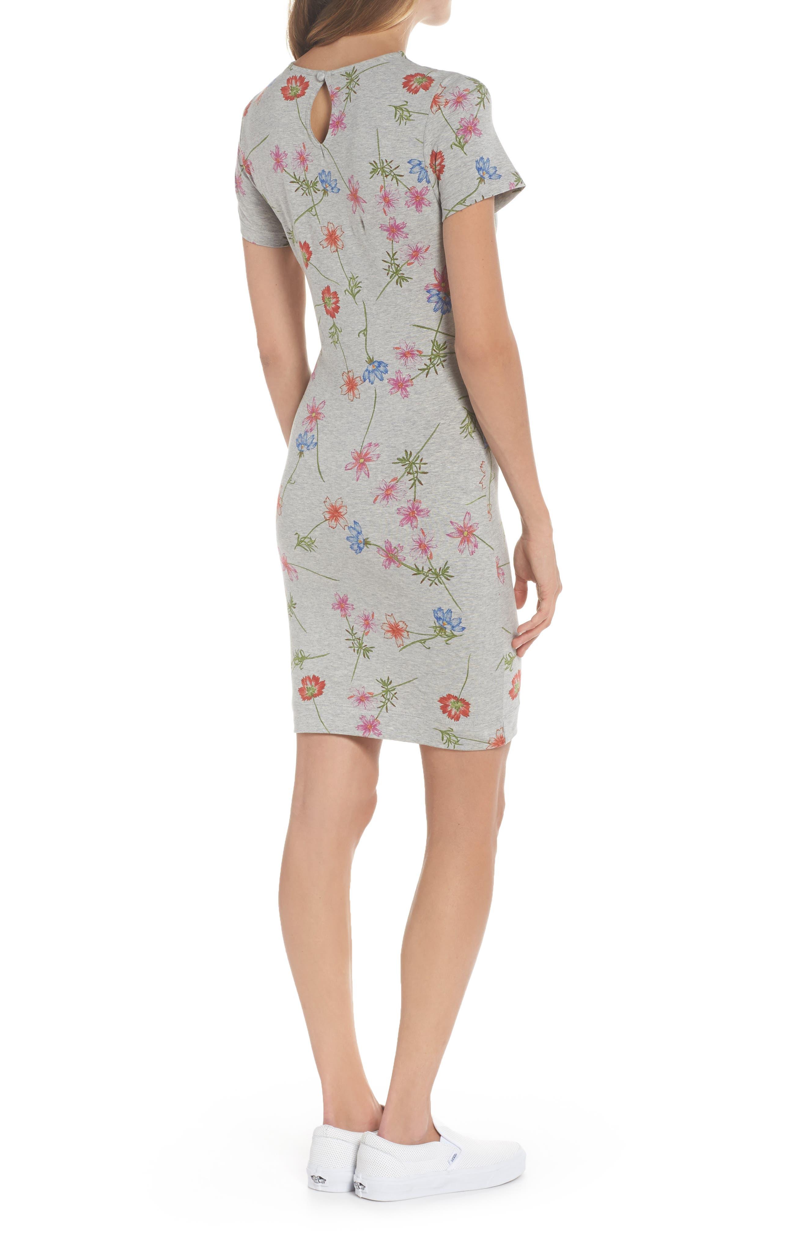 Botero Daisy Jersey Dress,                             Alternate thumbnail 2, color,                             076