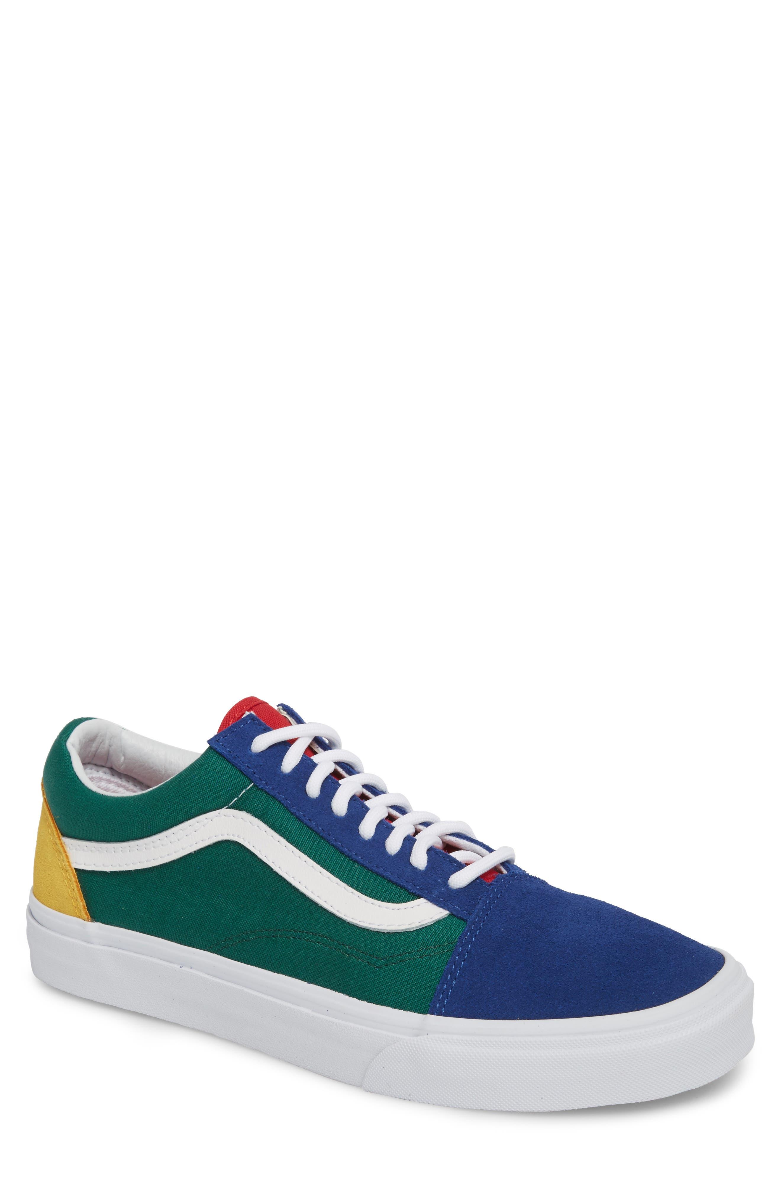 Yacht Club Old Skool Sneaker, Main, color, 300