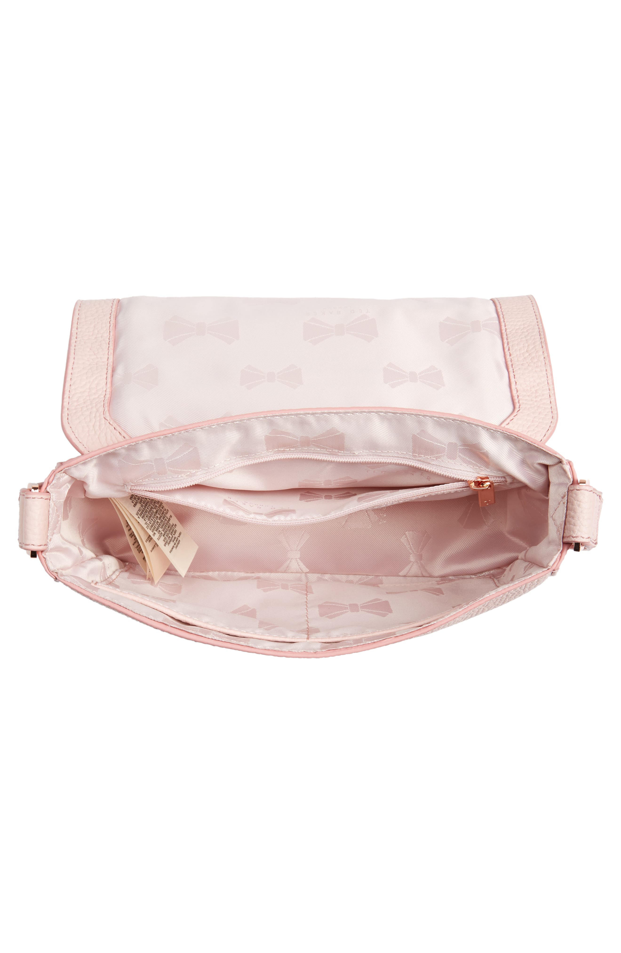 Tippi Leather Crossbody Bag,                             Alternate thumbnail 12, color,