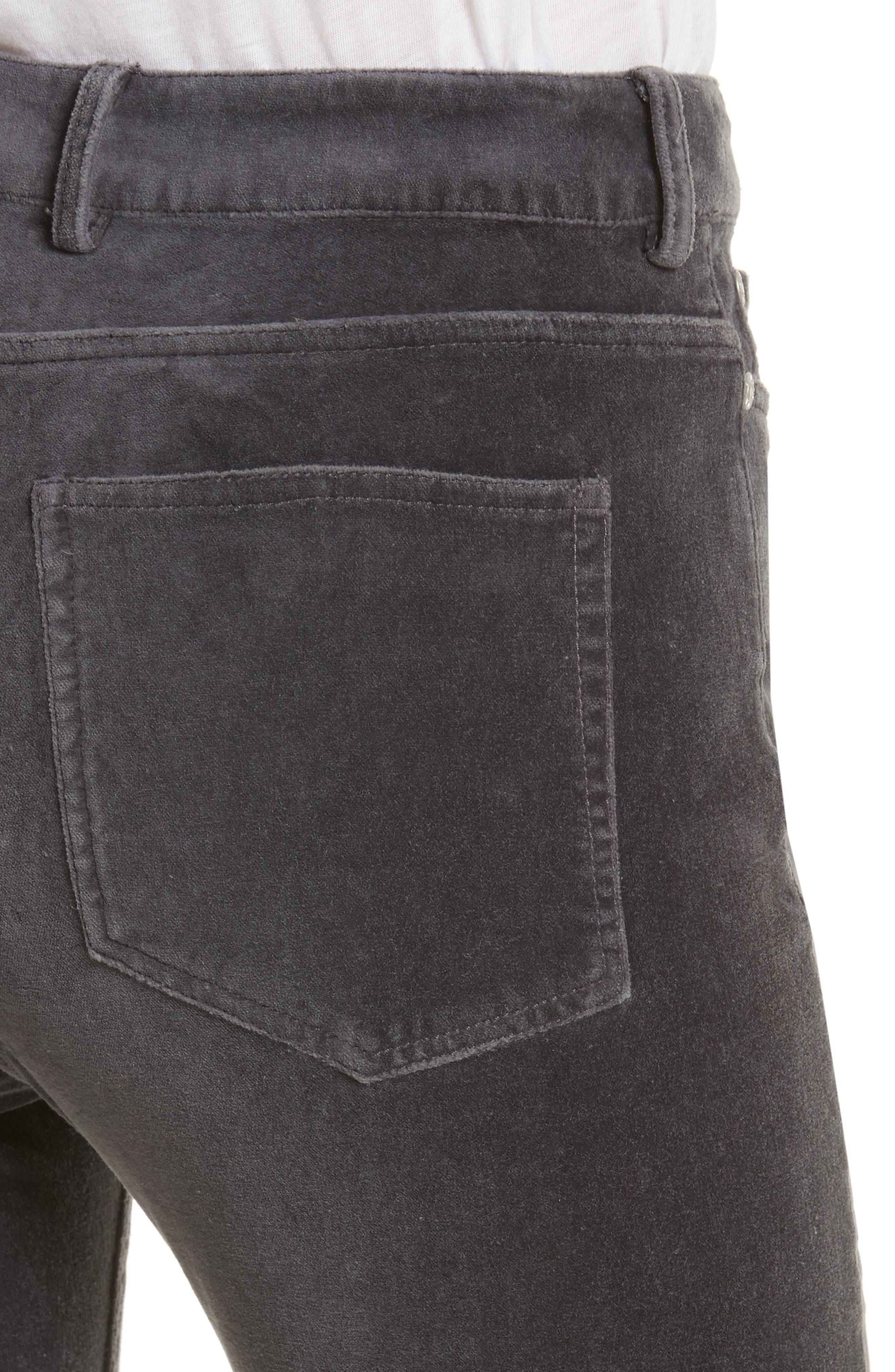 Velvet Clemence Skinny Pants,                             Alternate thumbnail 4, color,                             099