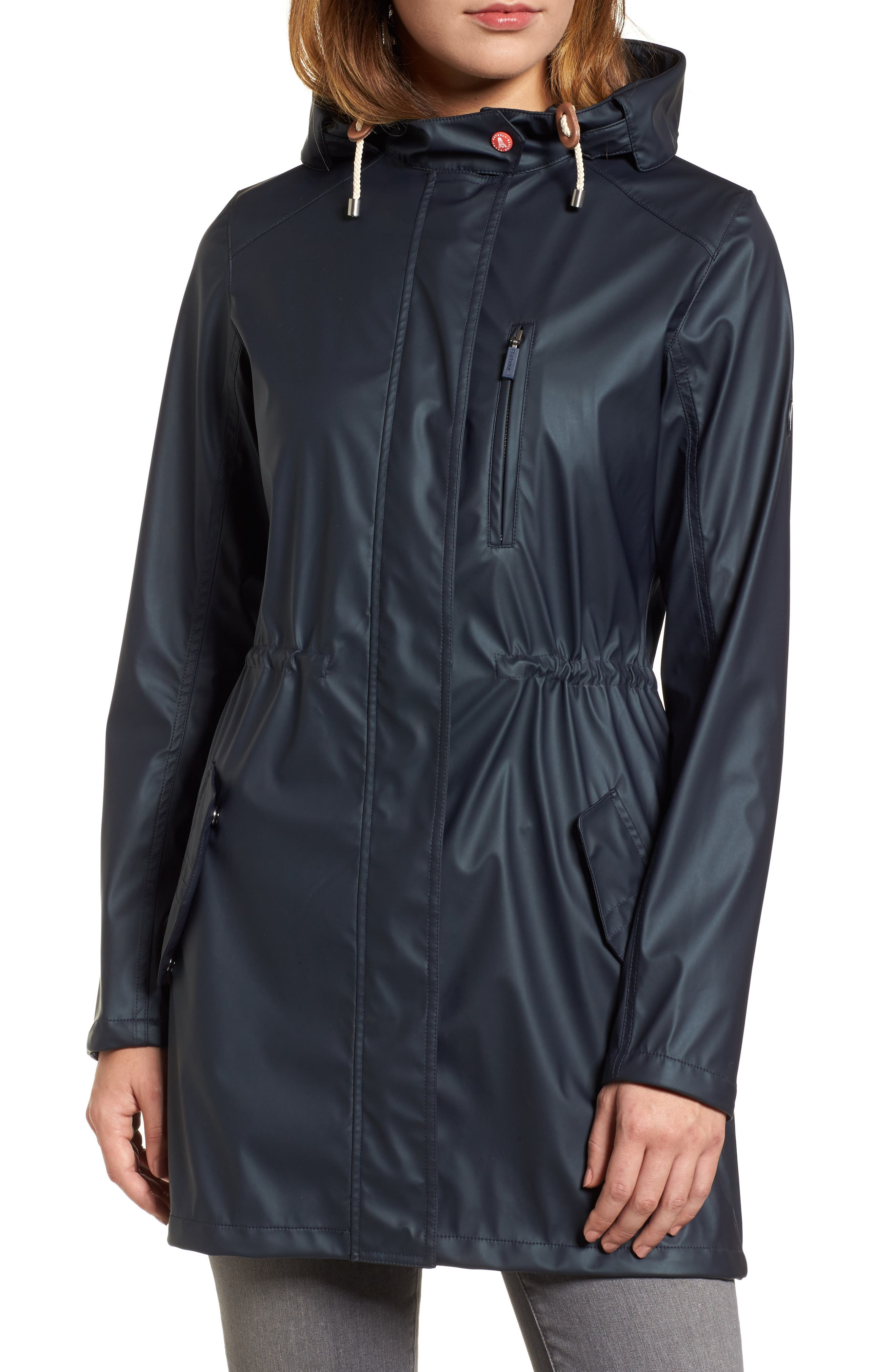 Harbour Hooded Jacket,                             Alternate thumbnail 4, color,                             410