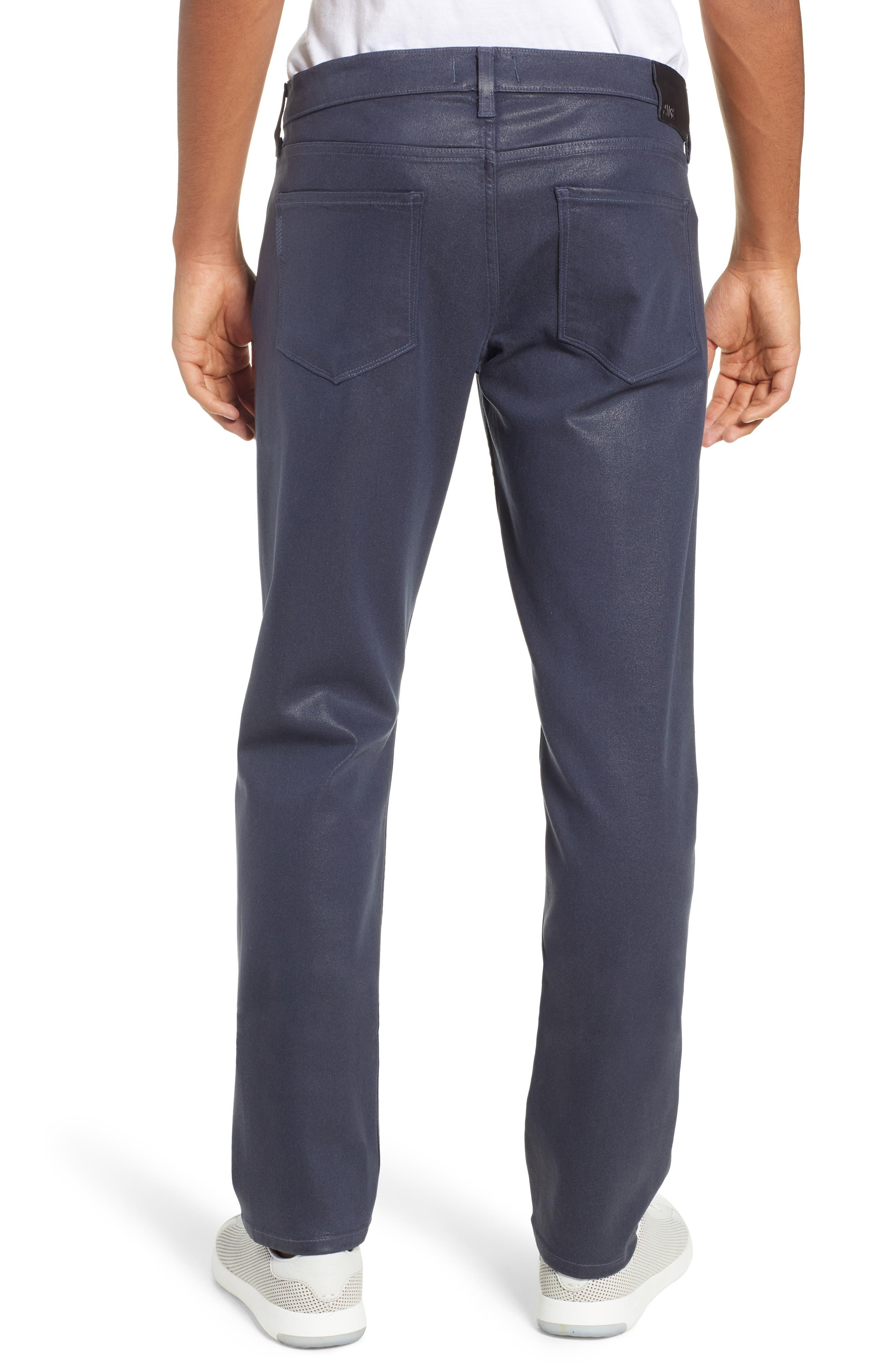 Transcend - Lennox Slim Fit Jeans,                             Alternate thumbnail 2, color,                             NIGHTFALL COATED