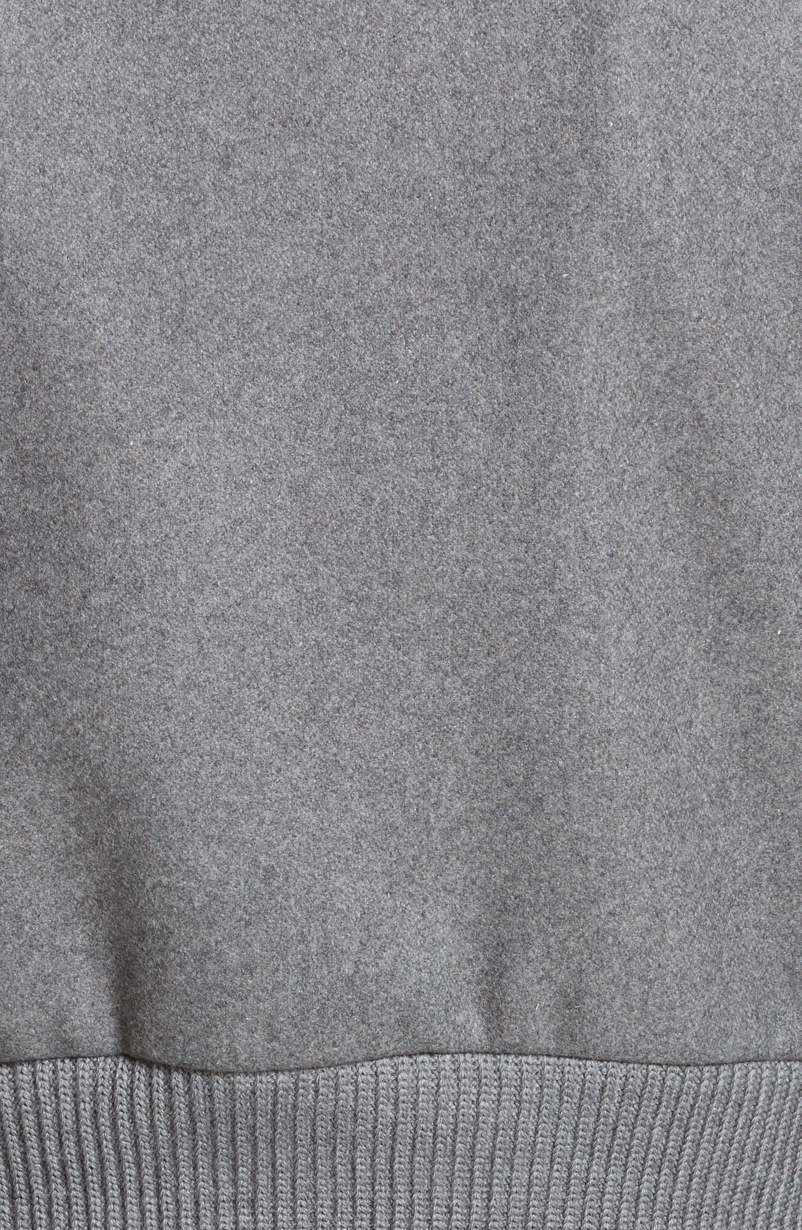 Mélange Wool Blend Jacket,                             Alternate thumbnail 6, color,                             026