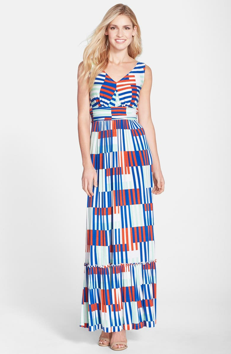11d89535d11 Plenty by Tracy Reese  Marcia  Print Jersey Maxi Dress (Petite ...
