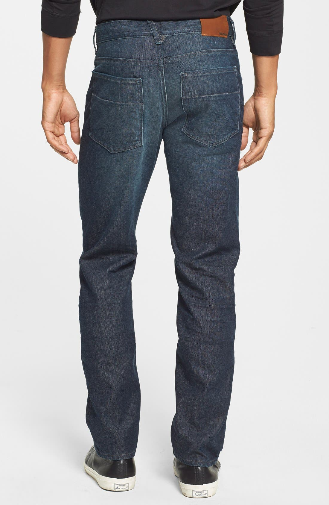 'Martin' Slim Fit Jeans,                             Alternate thumbnail 4, color,                             MASON