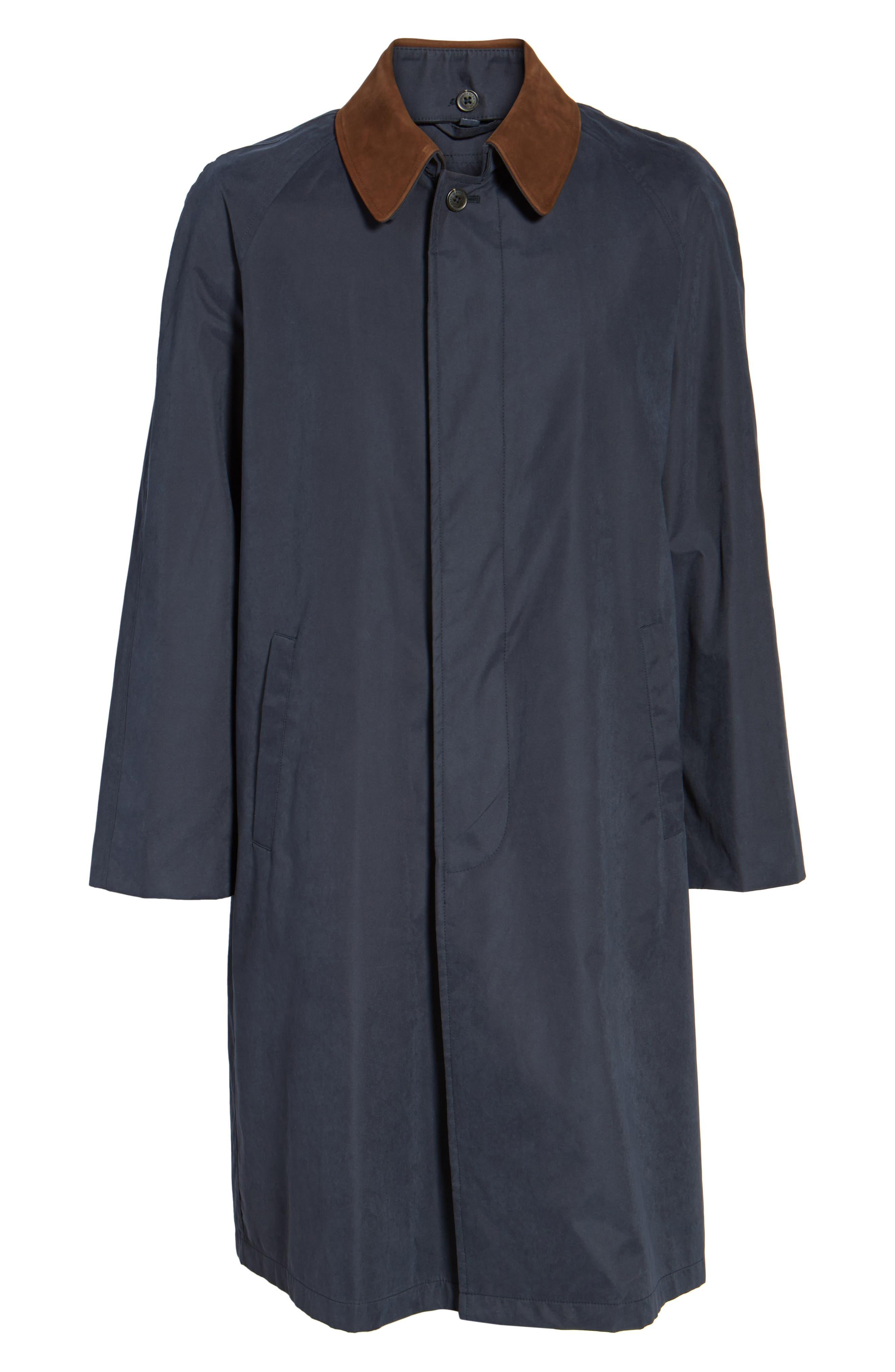 Lawrence Classic Fit Rain Coat,                             Alternate thumbnail 5, color,                             410