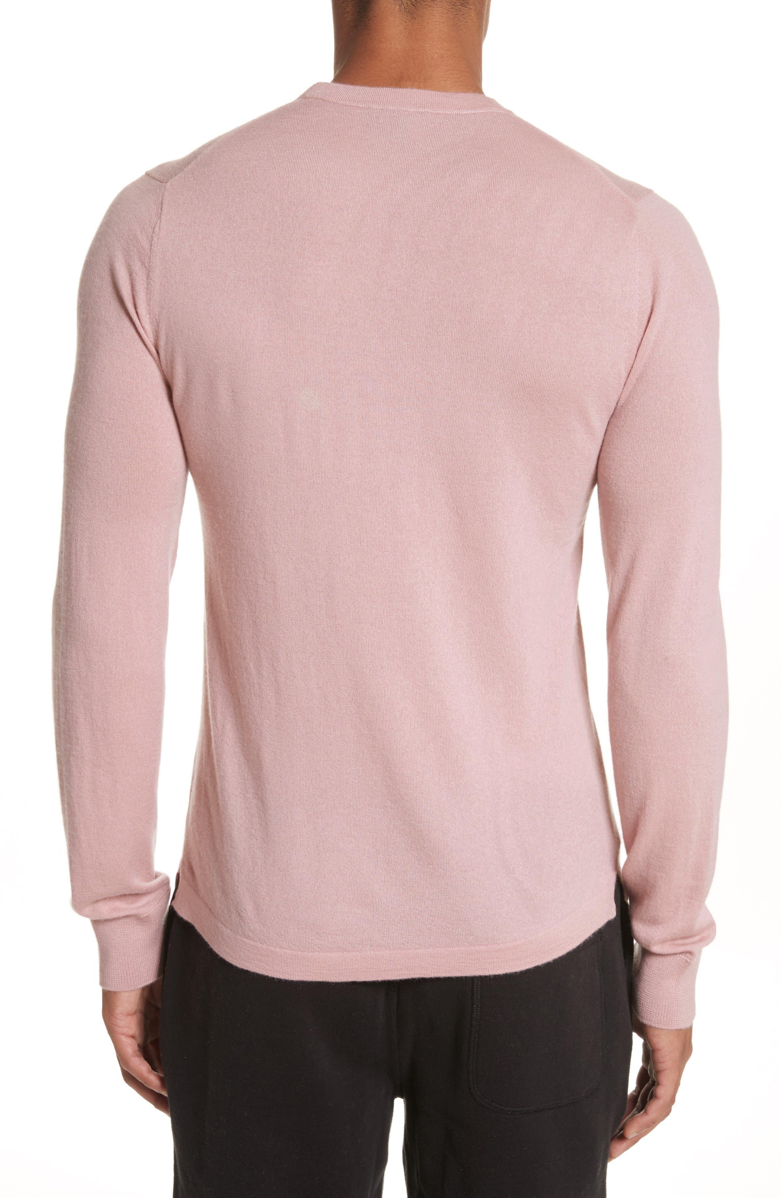 Cashmere Long Sleeve T-Shirt,                             Alternate thumbnail 2, color,