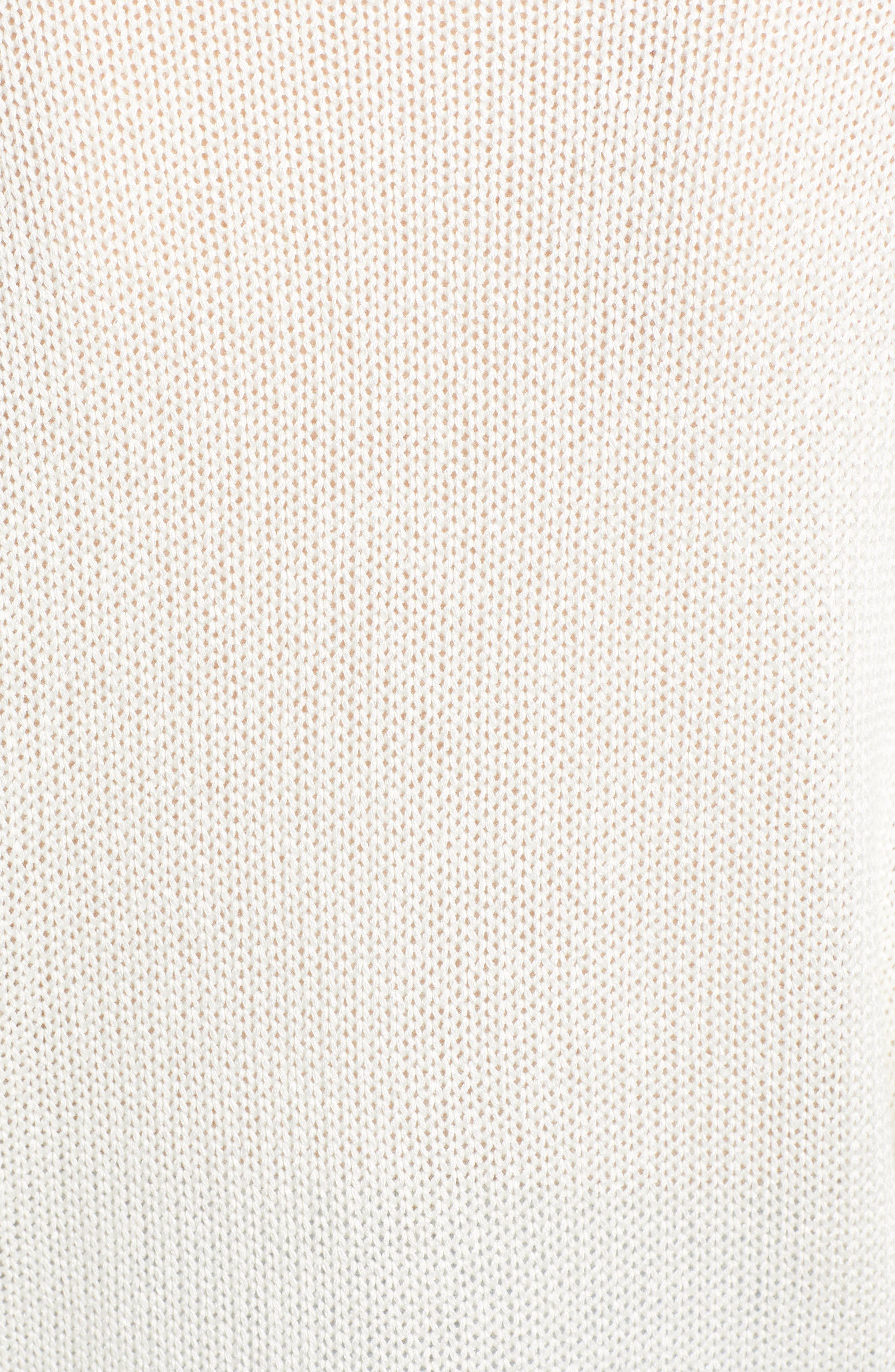SOMETHING NAVY,                             Subtle Sheen Sweater,                             Alternate thumbnail 7, color,                             100