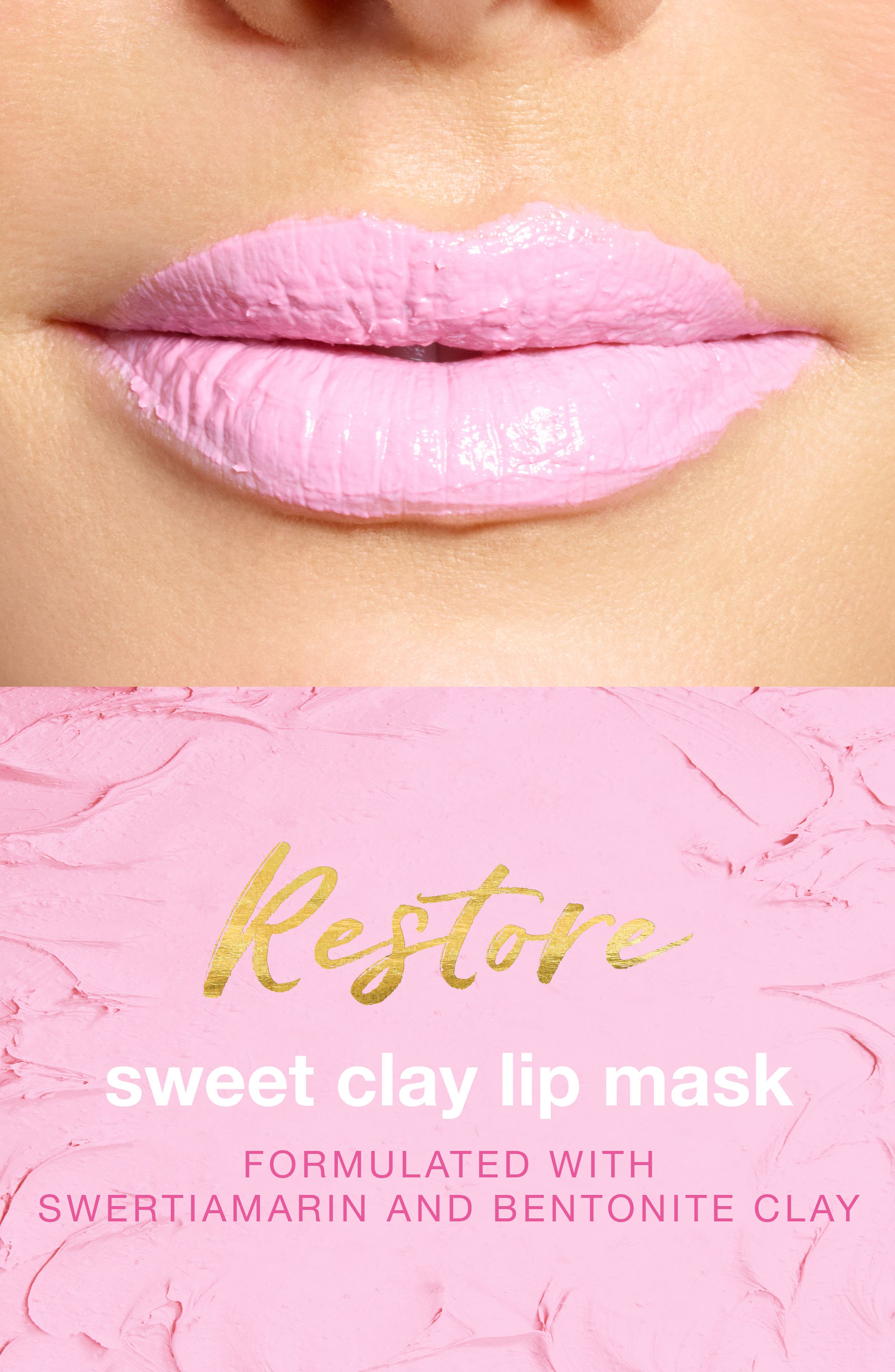 The Sweet Clay Lip Mask,                             Alternate thumbnail 4, color,                             NO COLOR