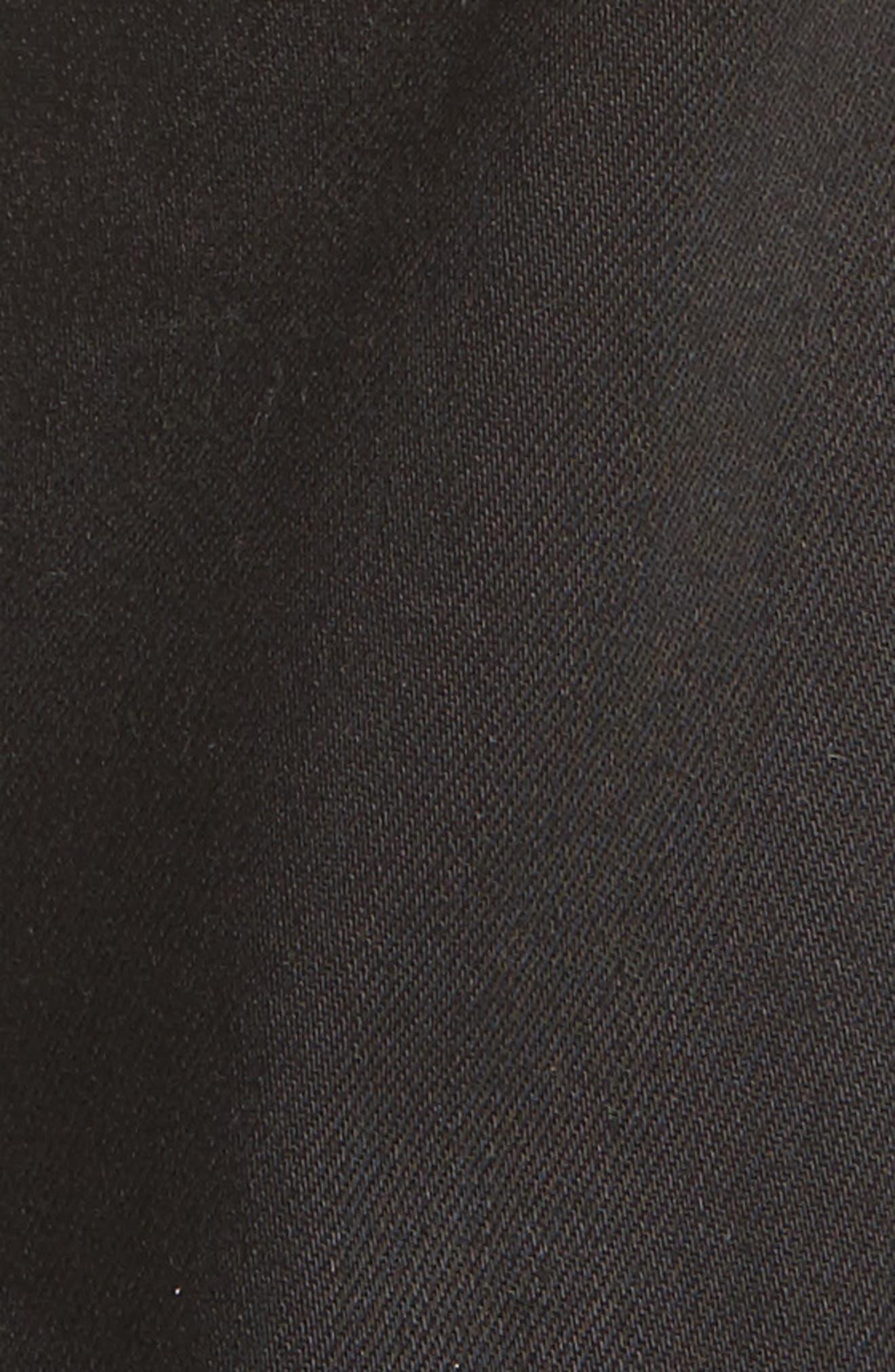 River Slim Taper Jeans,                             Alternate thumbnail 5, color,                             BLACK