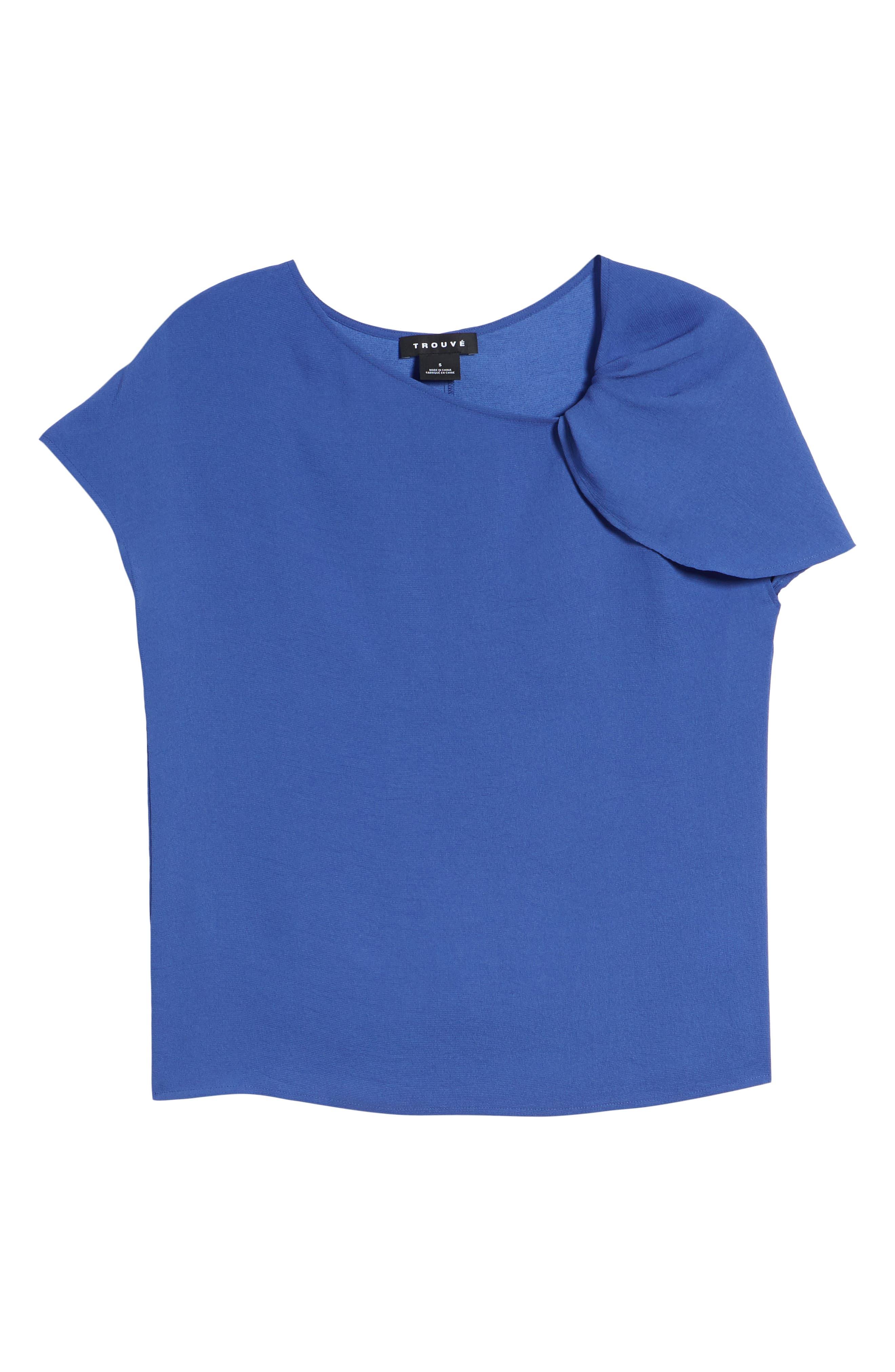 Asymmetrical Shoulder Top,                             Alternate thumbnail 7, color,                             420