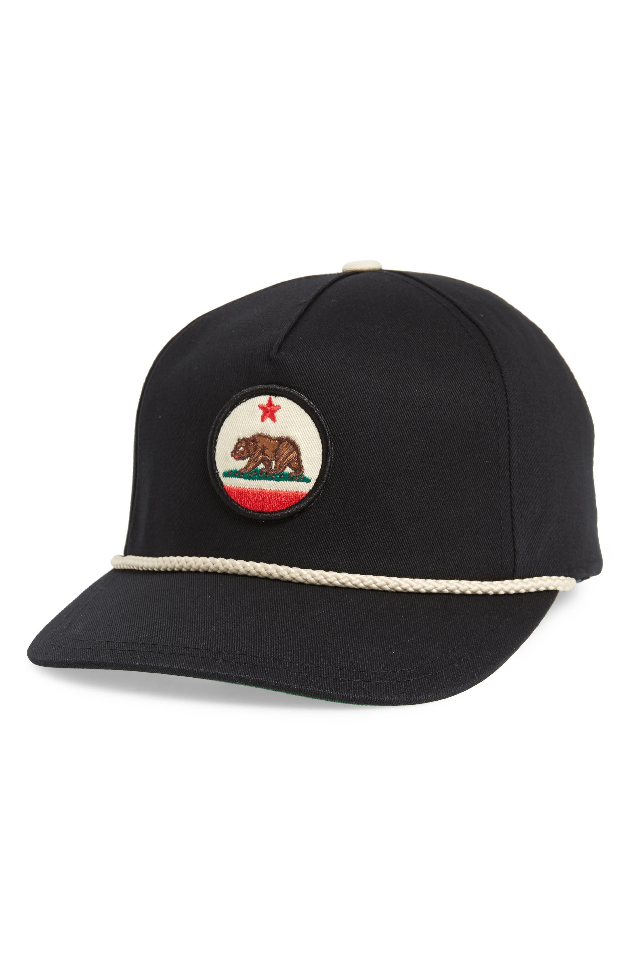 California Snapback Baseball Cap,                             Main thumbnail 1, color,                             014
