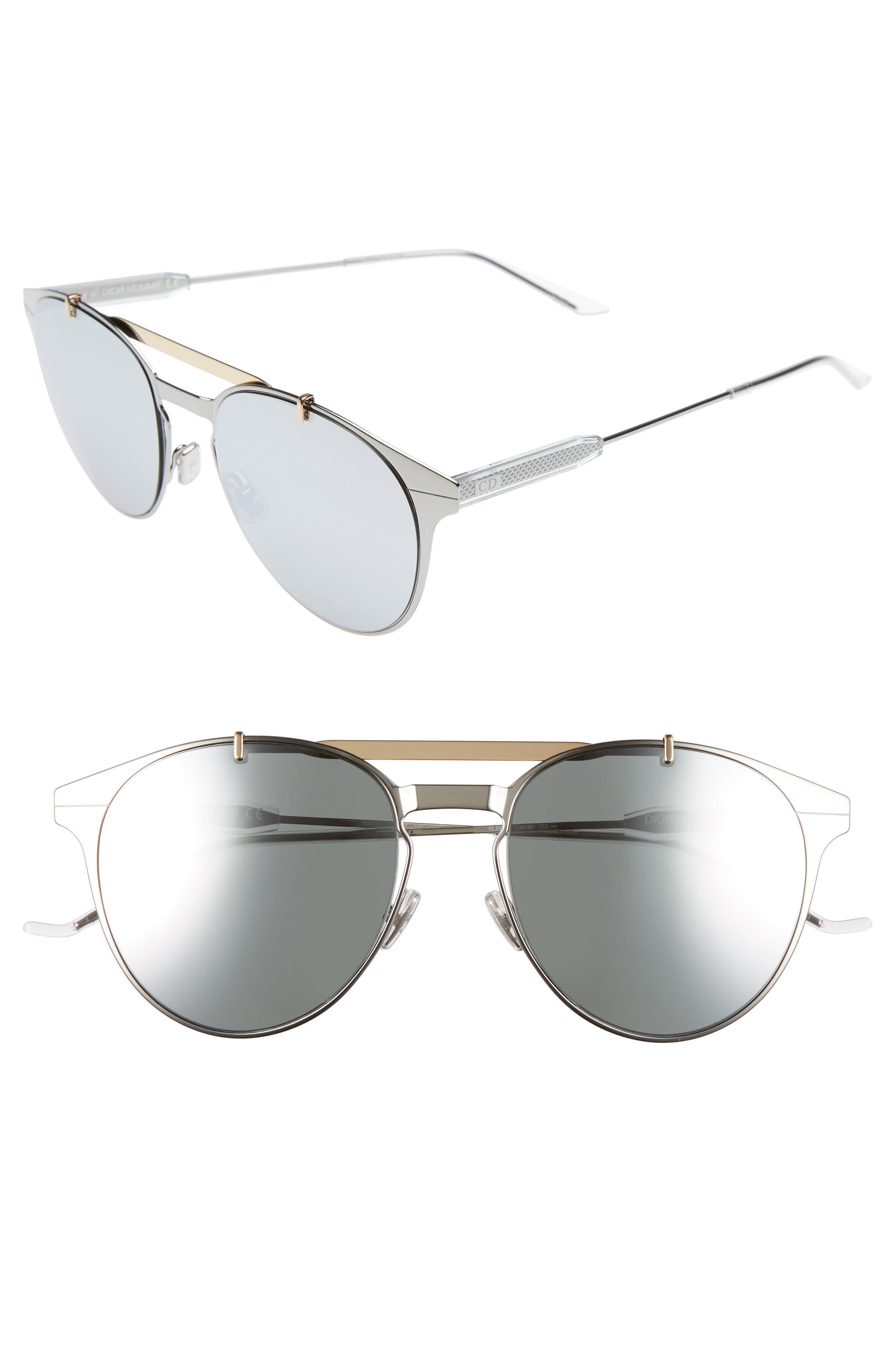 Motion 53mm Sunglasses,                             Main thumbnail 1, color,                             GREY
