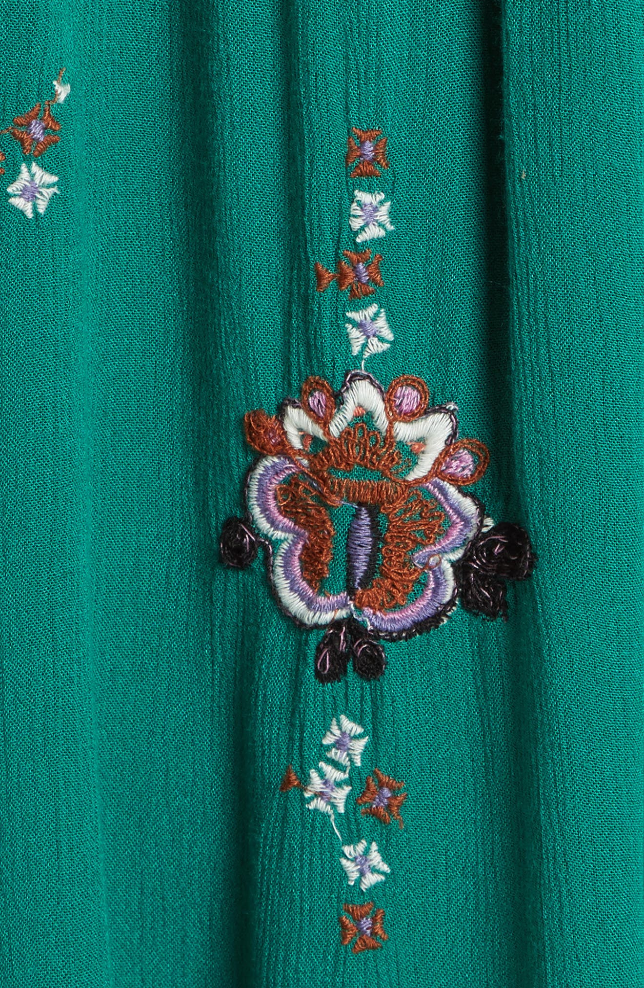 Embroidered Minidress,                             Alternate thumbnail 6, color,                             300