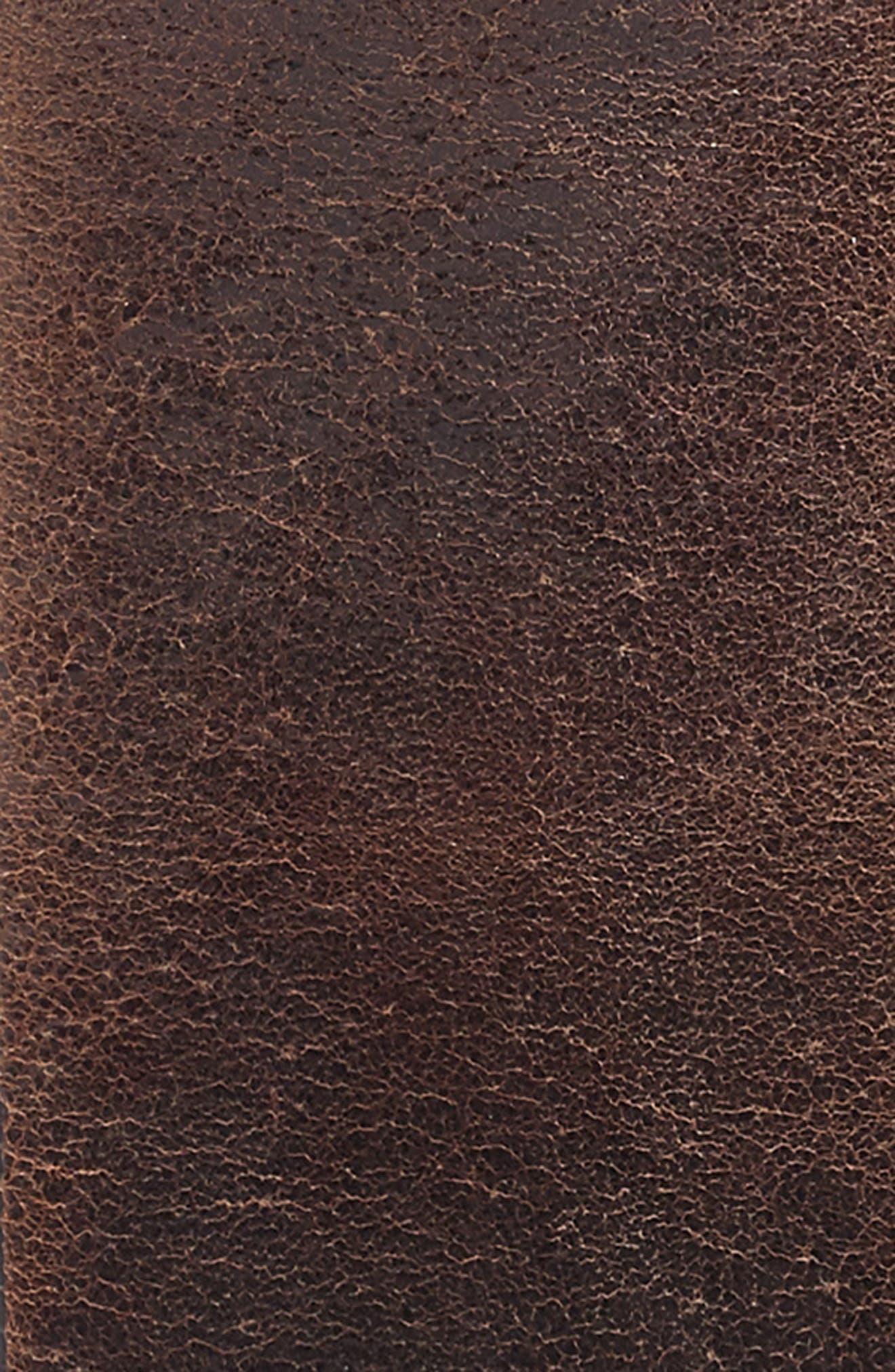 Harness Leather Belt,                             Alternate thumbnail 7, color,