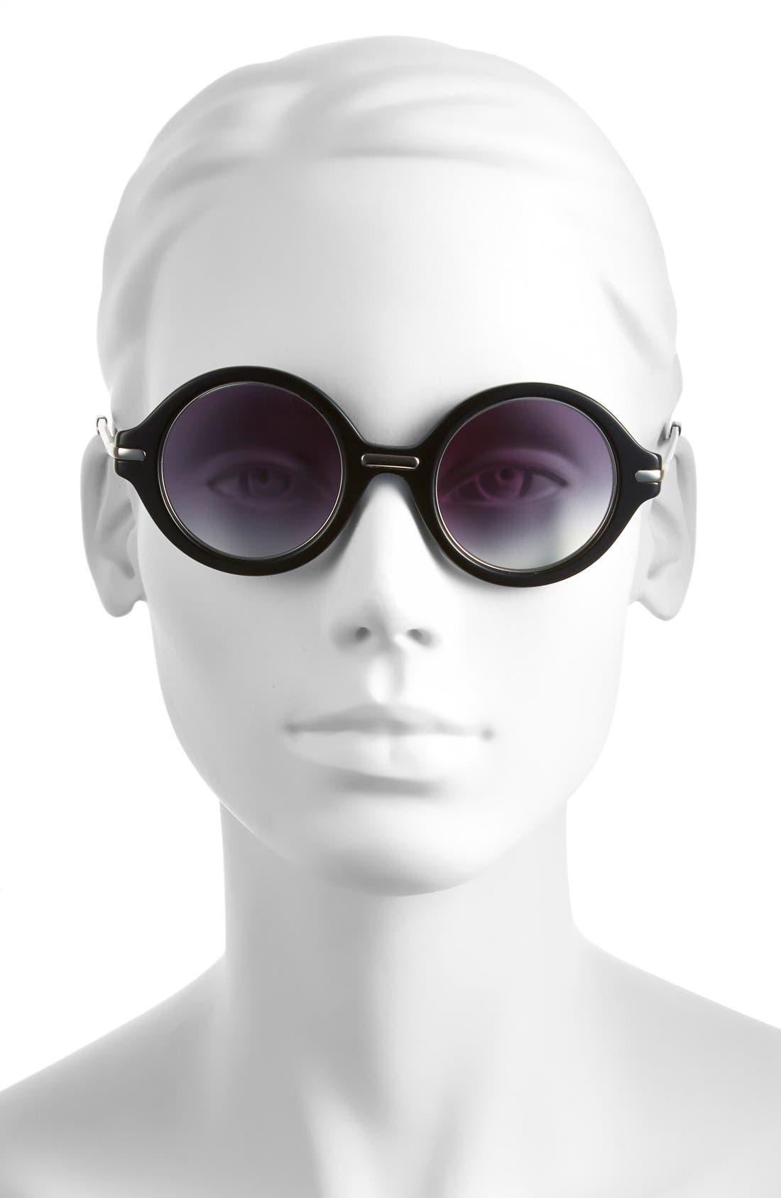 Jason Wu 'Laurie' 46mm Sunglasses,                             Alternate thumbnail 3, color,                             001