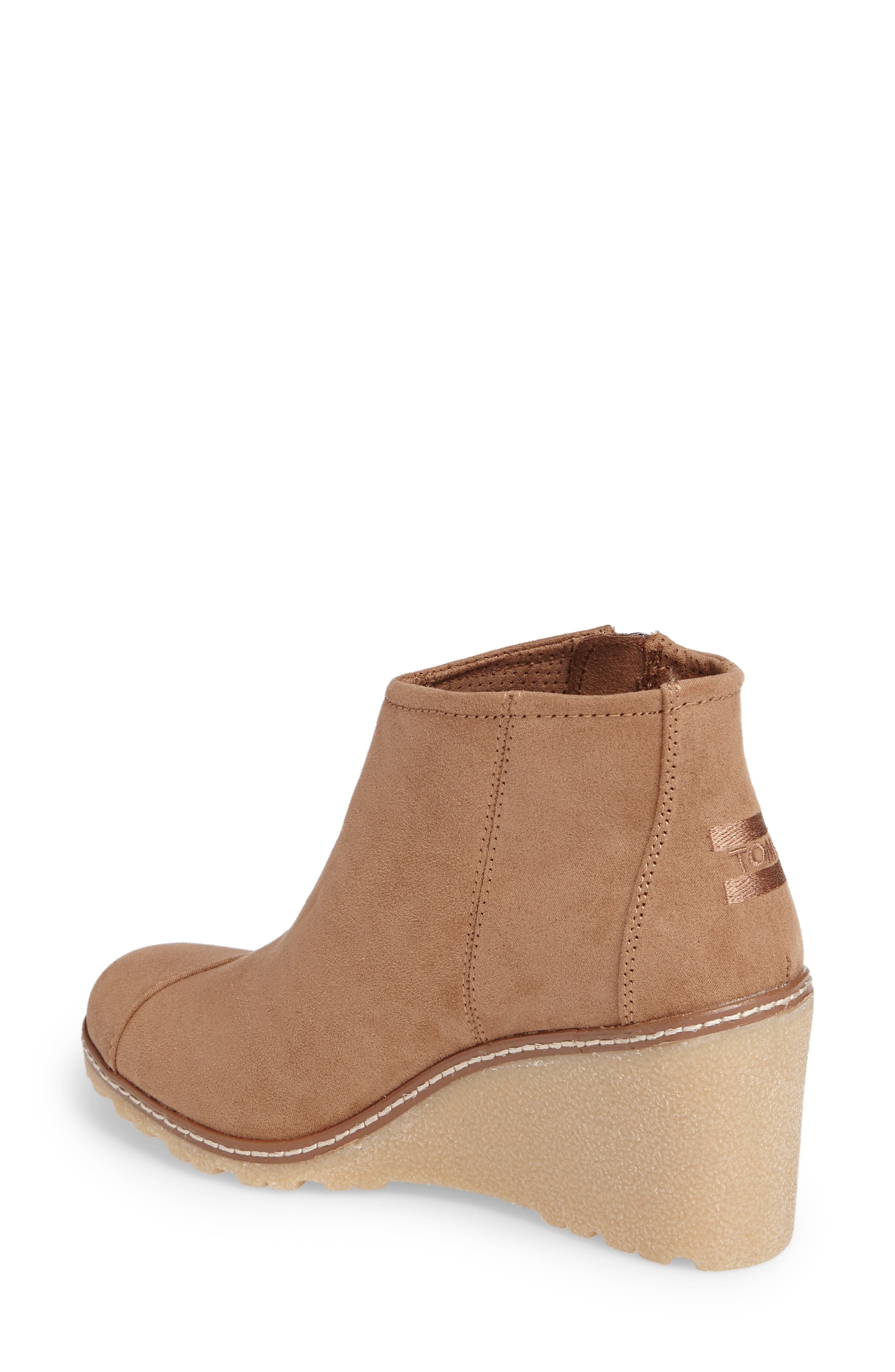 Avery Wedge Bootie,                             Alternate thumbnail 7, color,