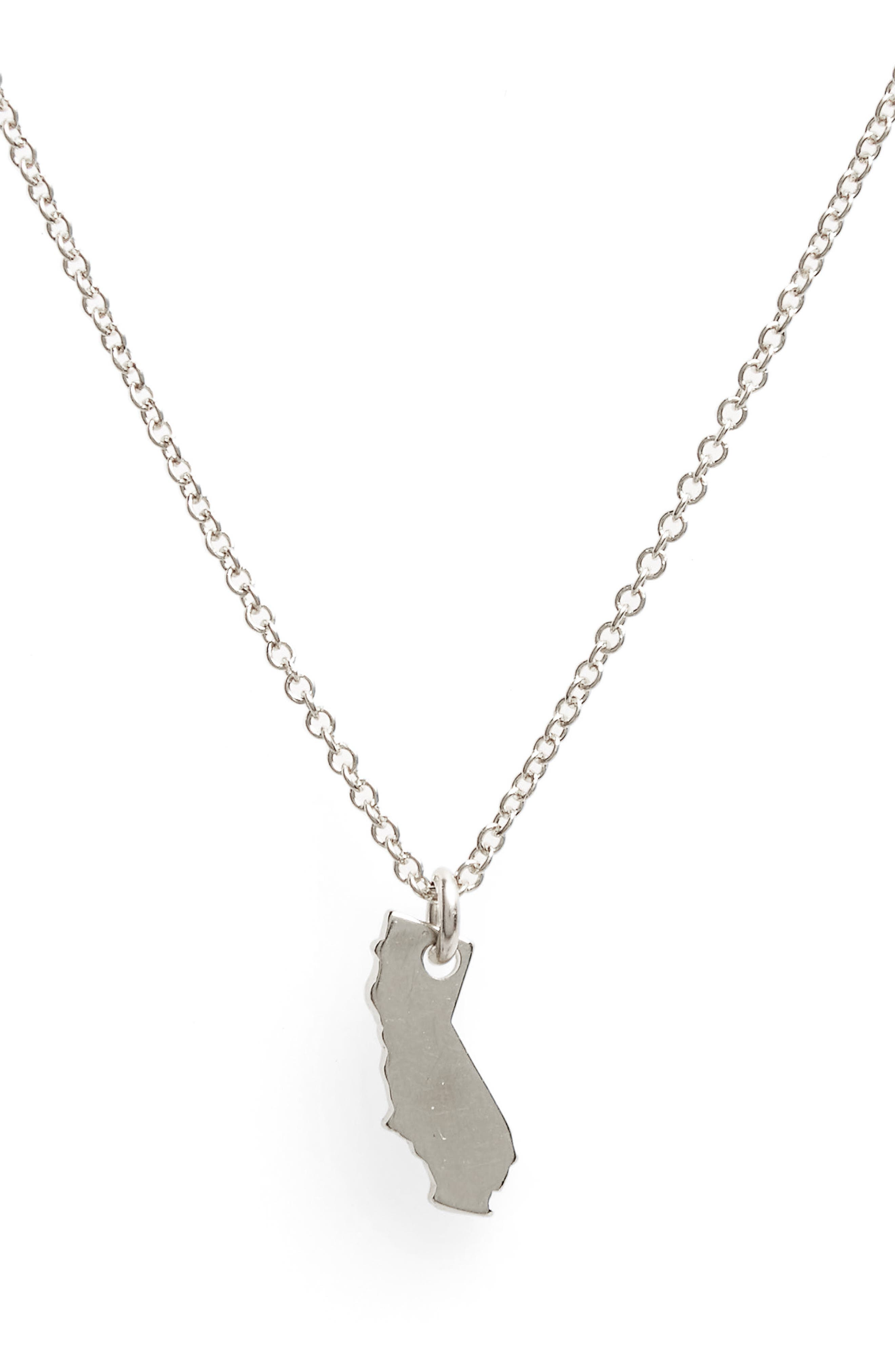 I Heart California Pendant Necklace,                             Alternate thumbnail 4, color,                             042